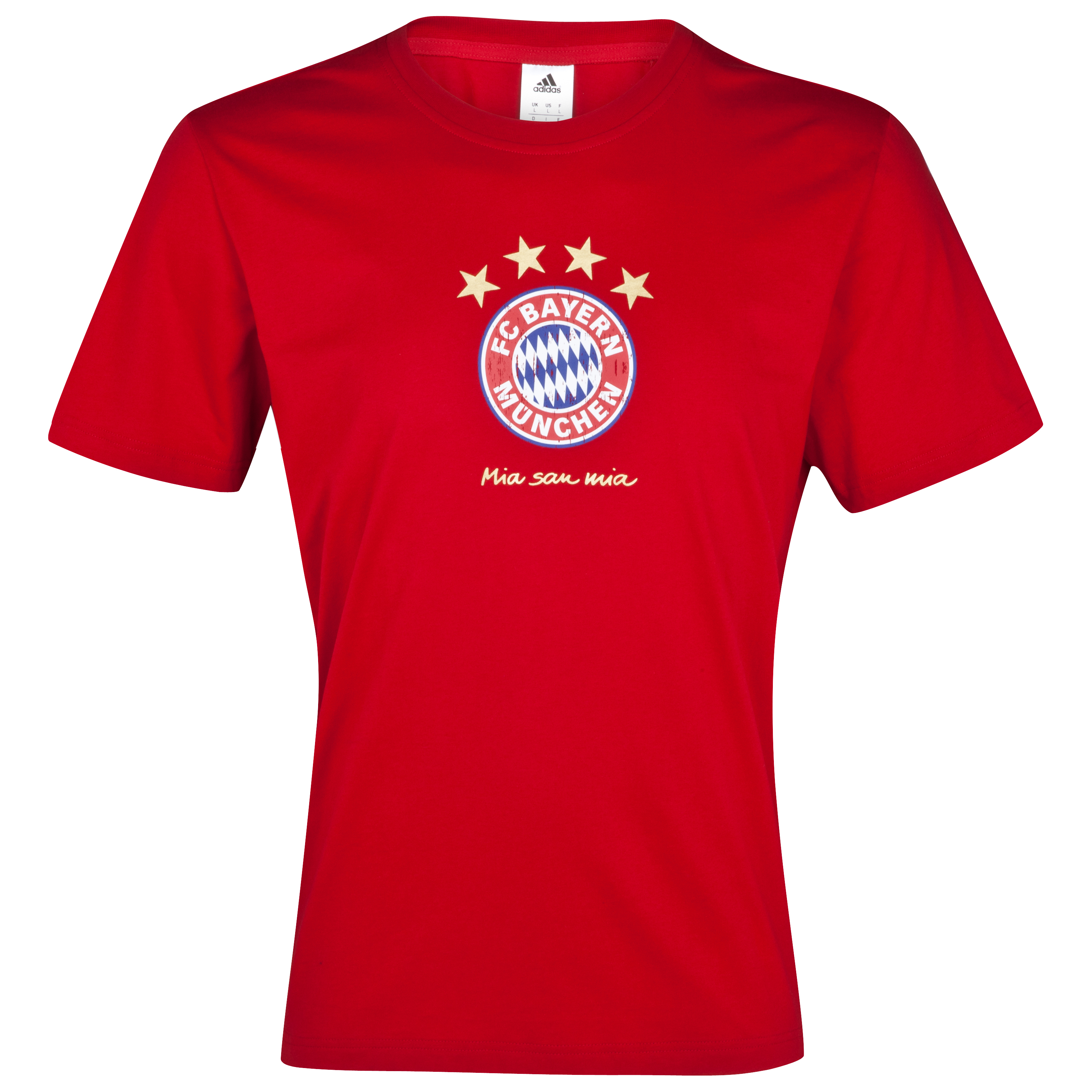 Bayern Munich Graphic T-Shirt - University Red