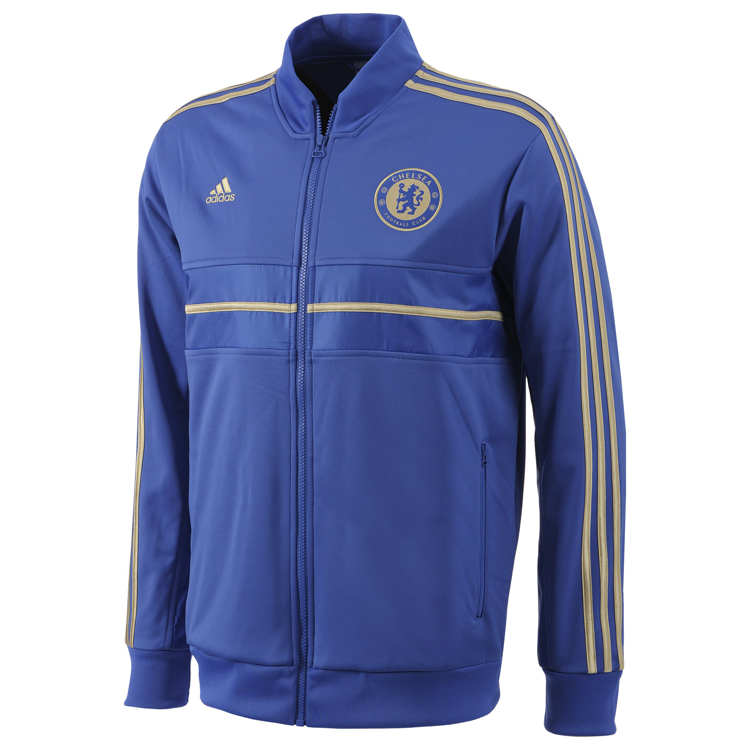 Chelsea Anthem Jacket - Reflex Blue/Light Football Gold - Kids