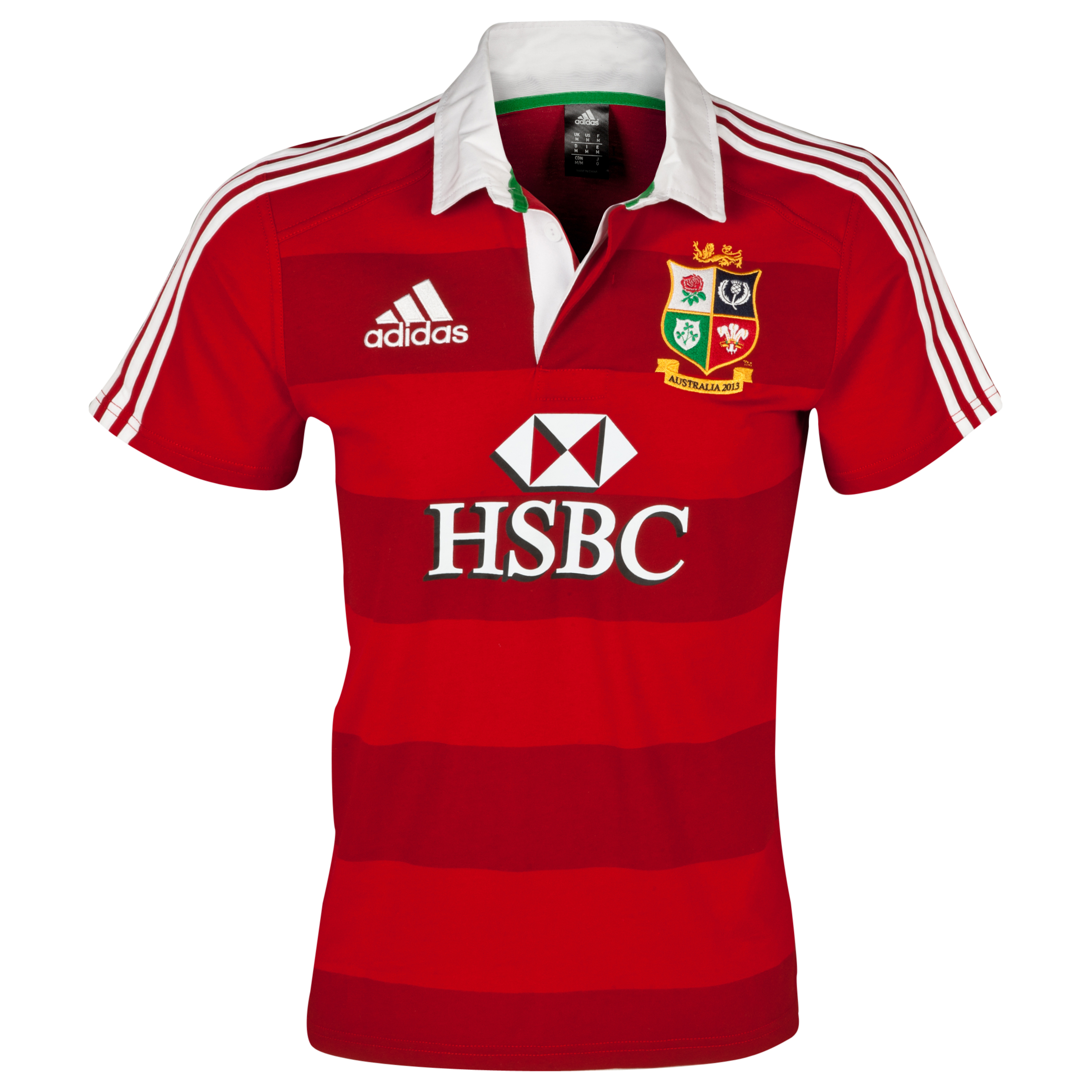 adidas British and Irish Lions Supporters Shirt - University Red/White
