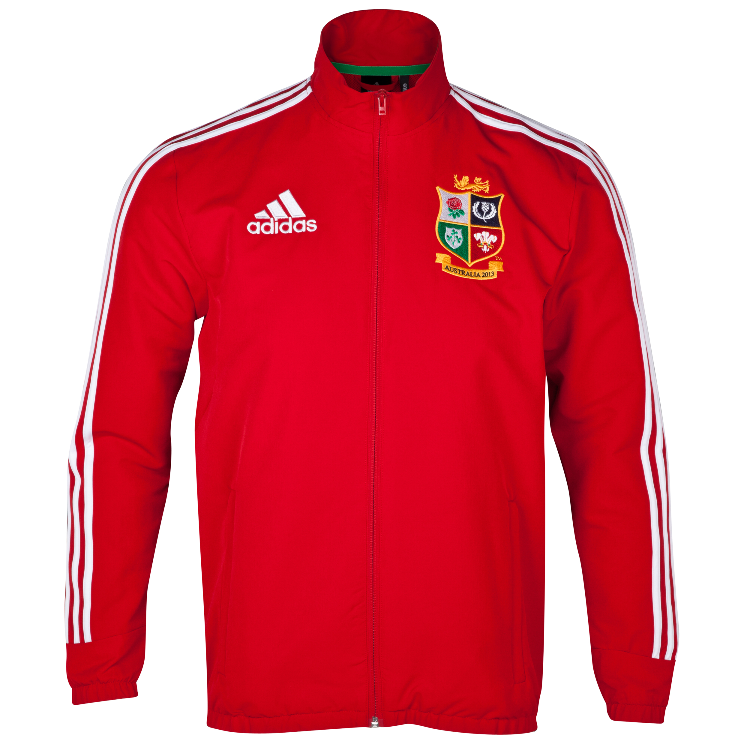 British & Irish Lions Anthem Jacket - University Red/White