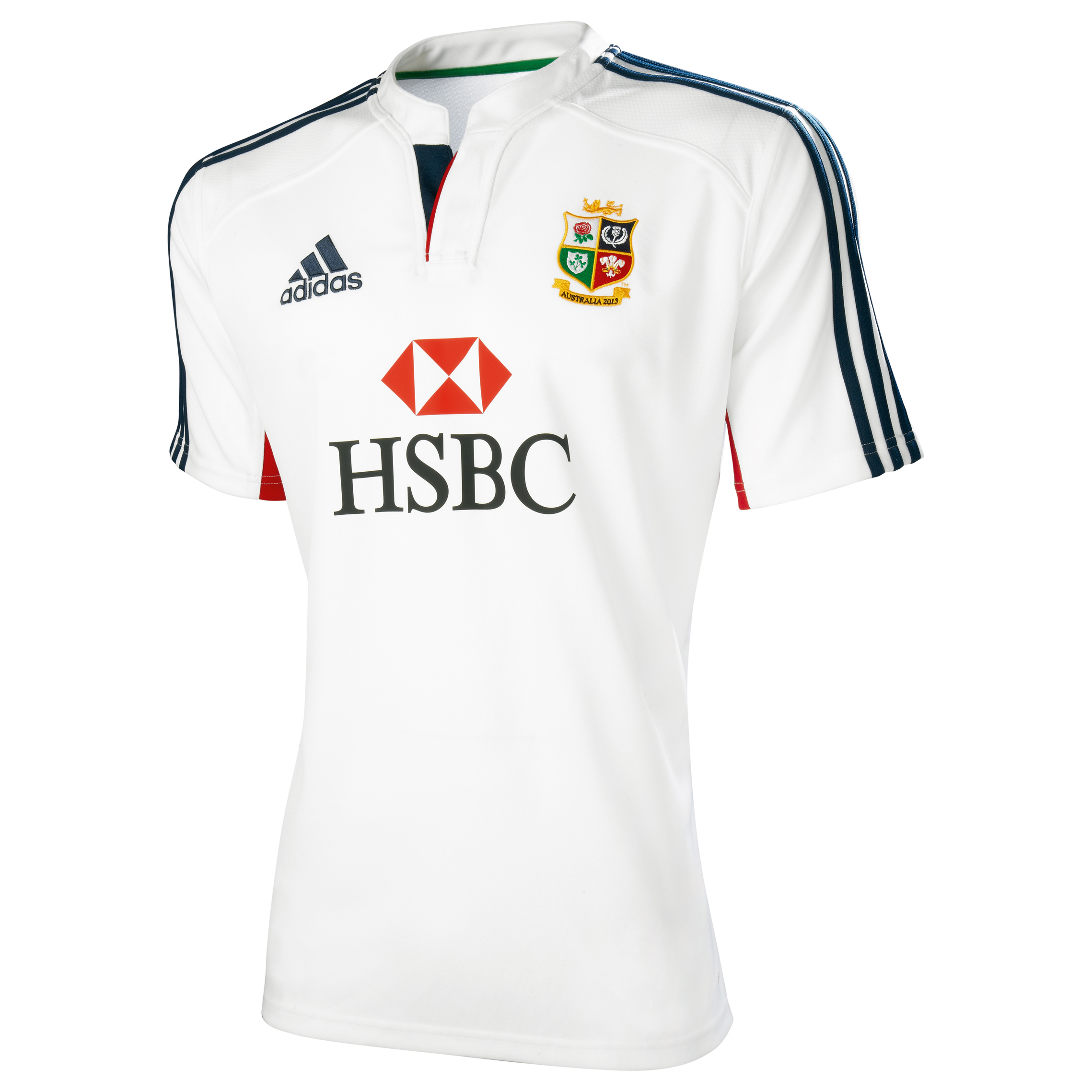 British & Irish Lions Training Top - White/Collegiate Navy