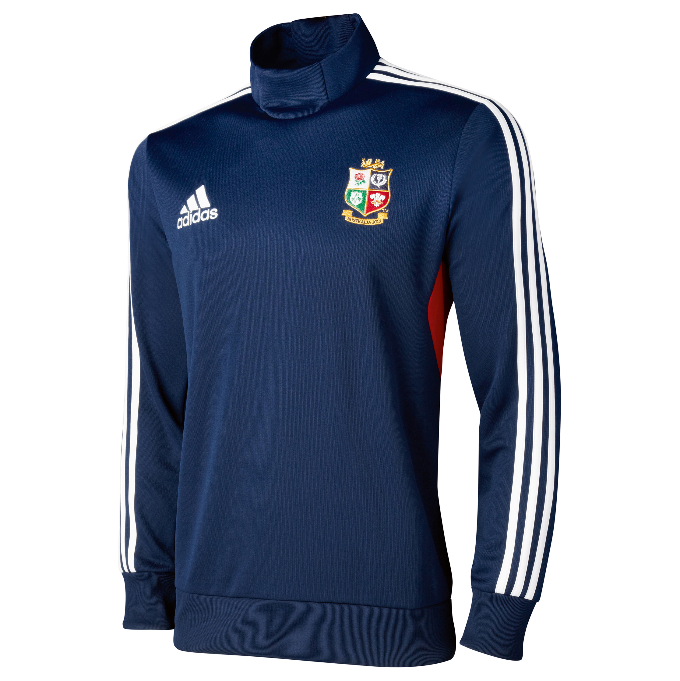 British & Irish Lions Drill Top - Collegiate Navy/White