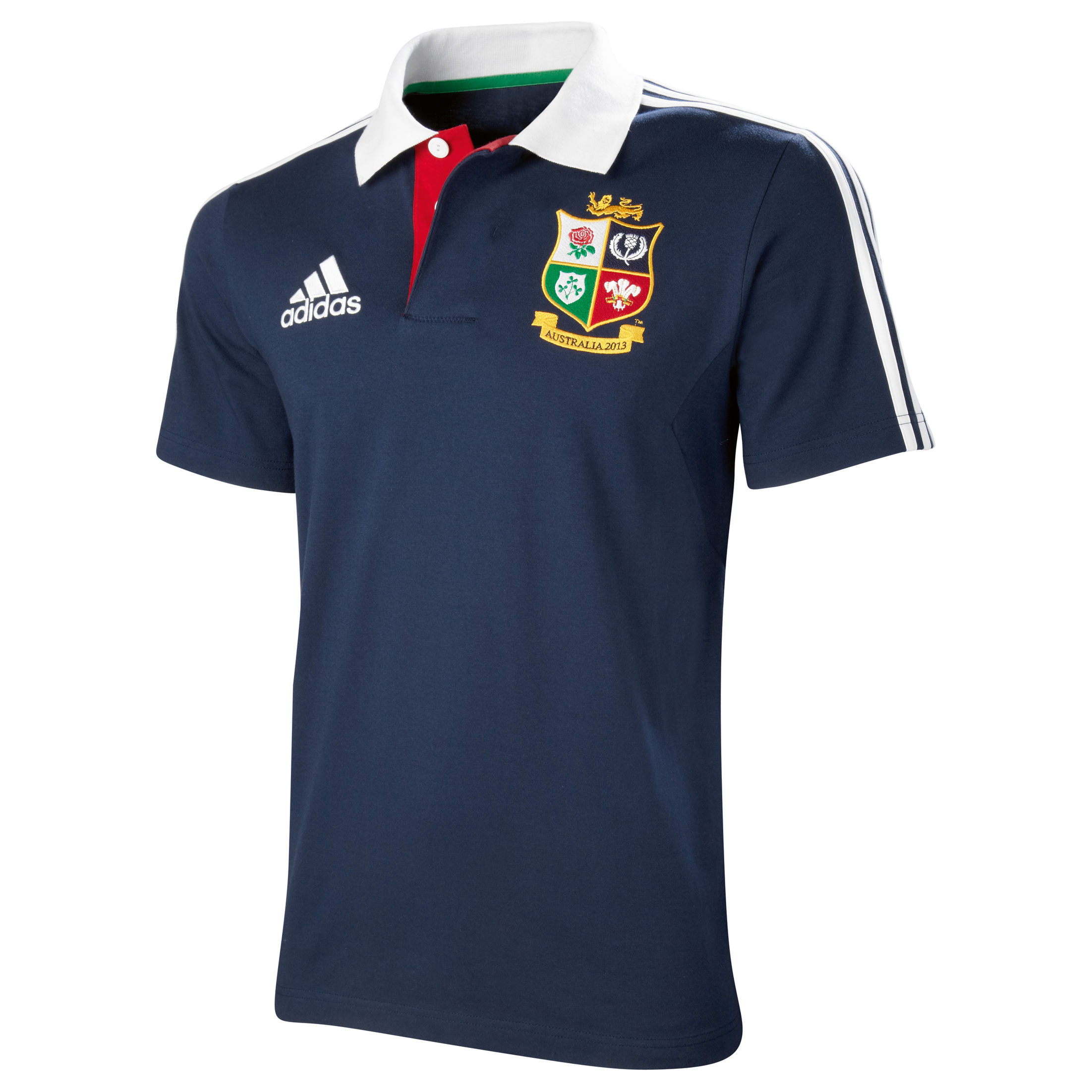 adidas British and Irish Lions Polo - Collegiate Navy/White