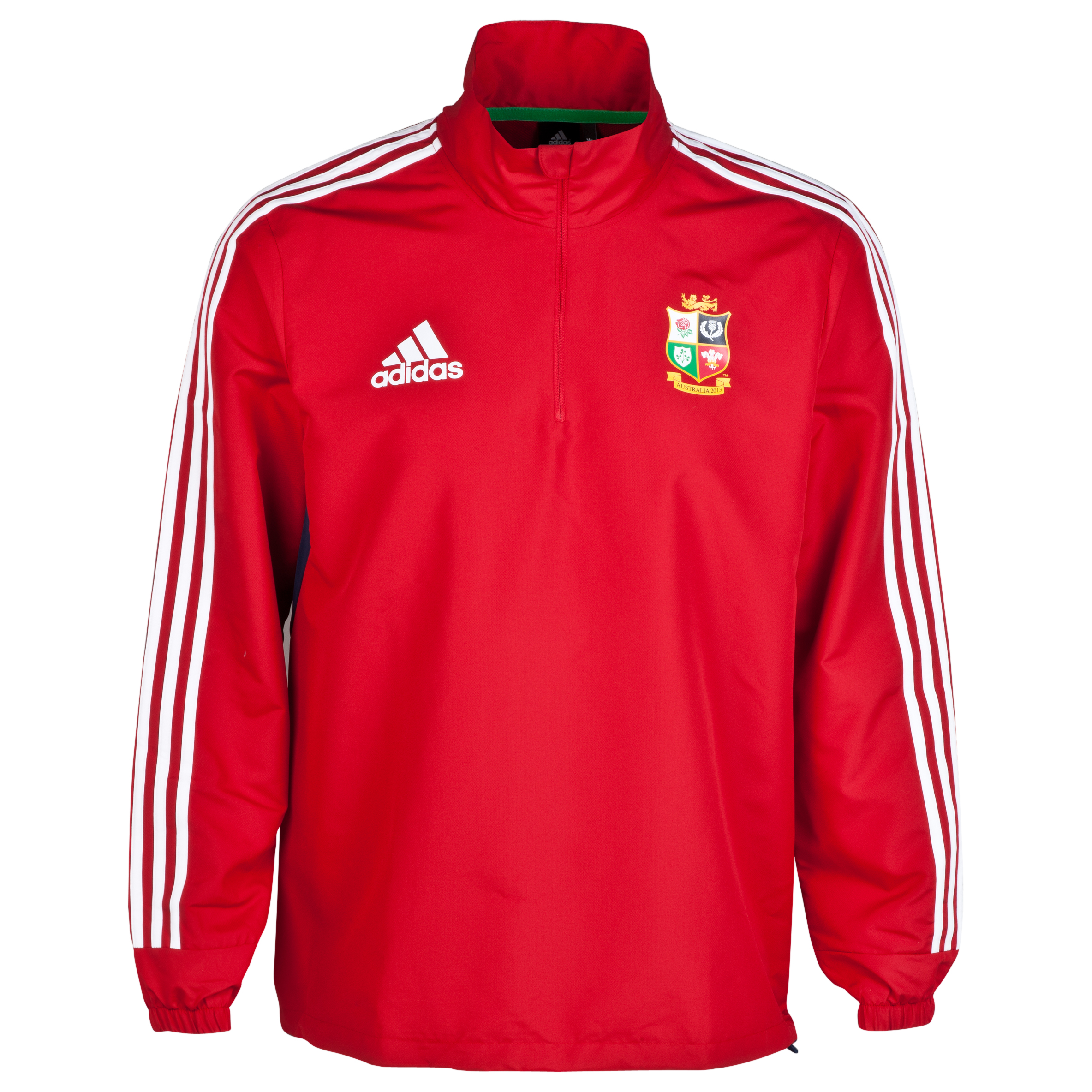 adidas British and Irish Lions Wind Jacket - University Red/White