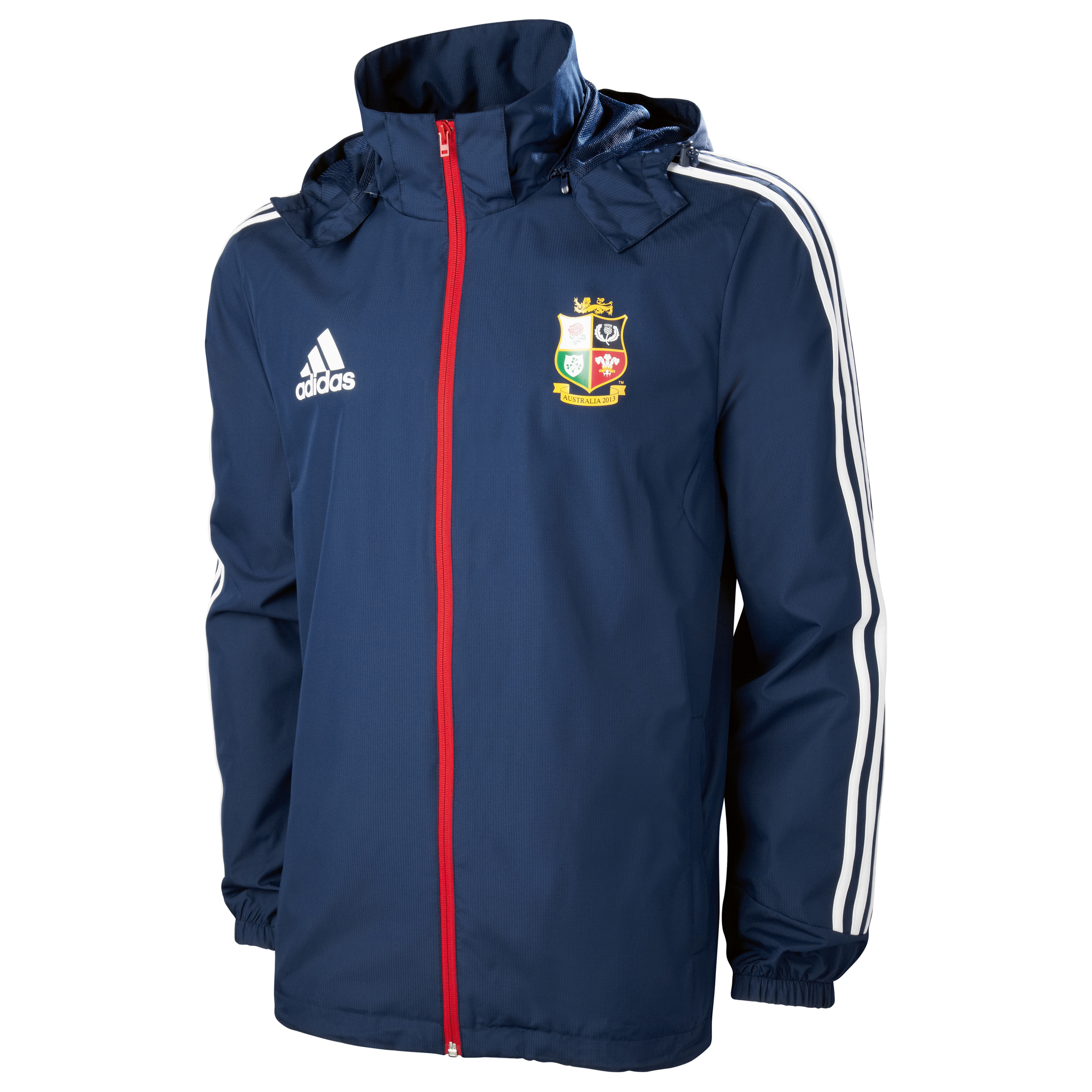 adidas British and Irish Lions All Weather Jacket - Collegiate Navy/White