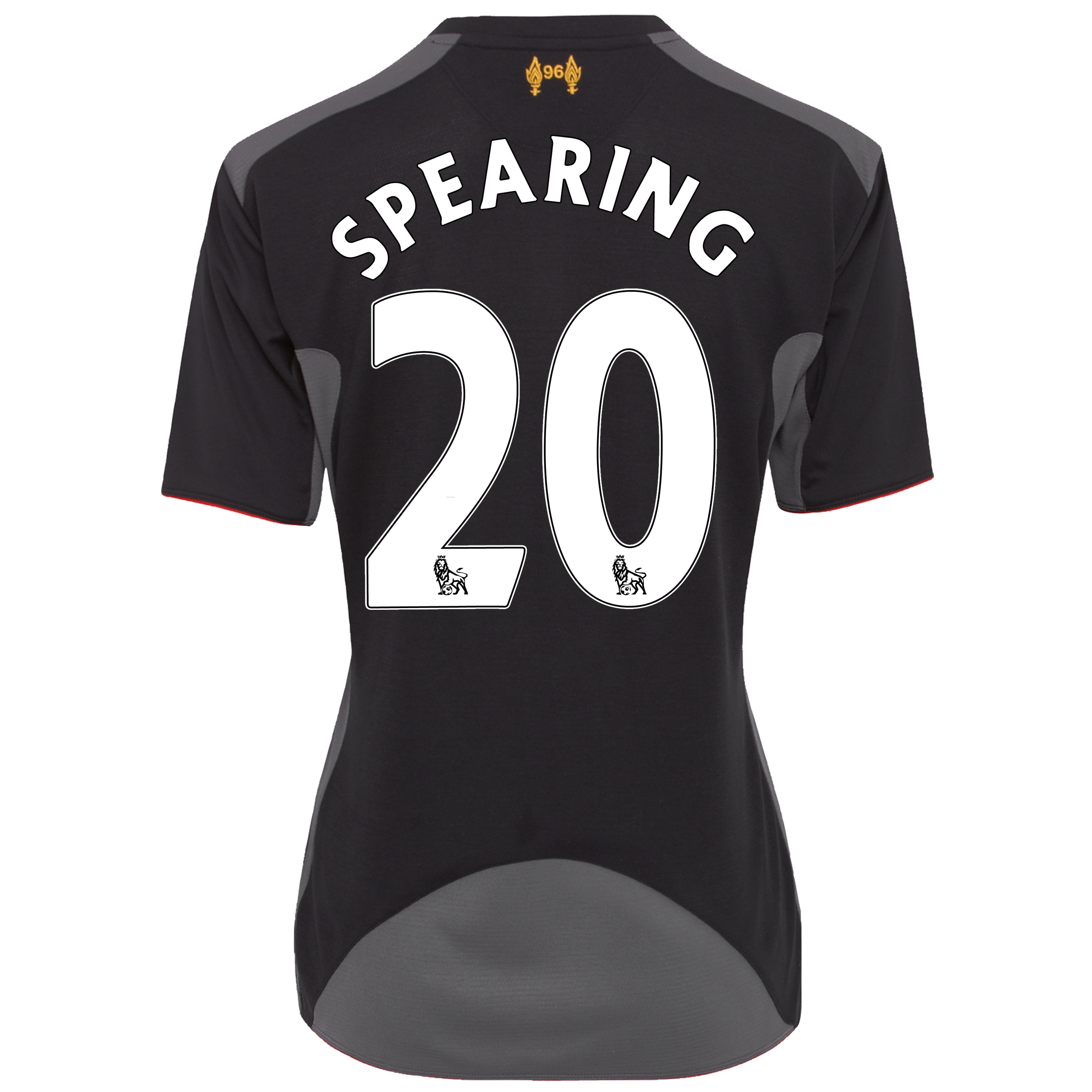 Liverpool Away Shirt 2012/13 - Womens with Spearing 20 printing