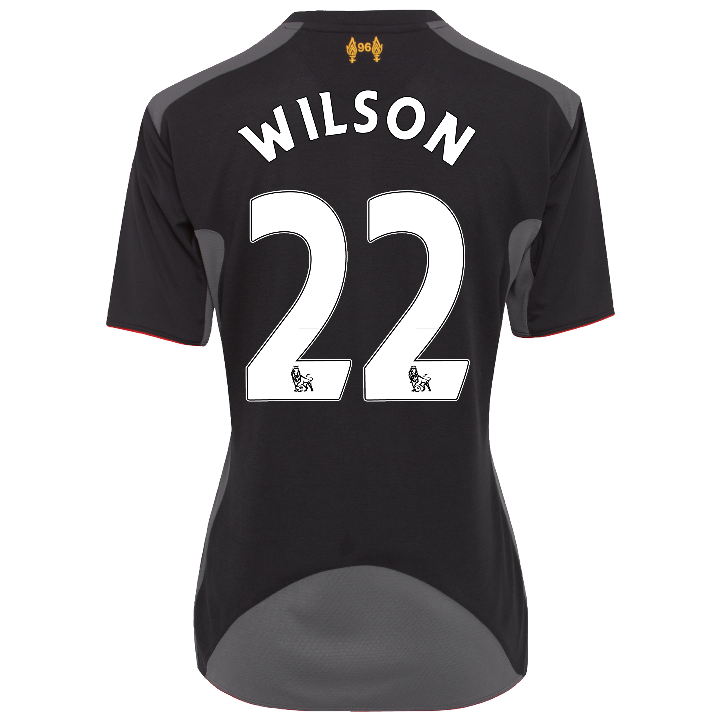 Liverpool Away Shirt 2012/13 - Womens with Wilson 22 printing