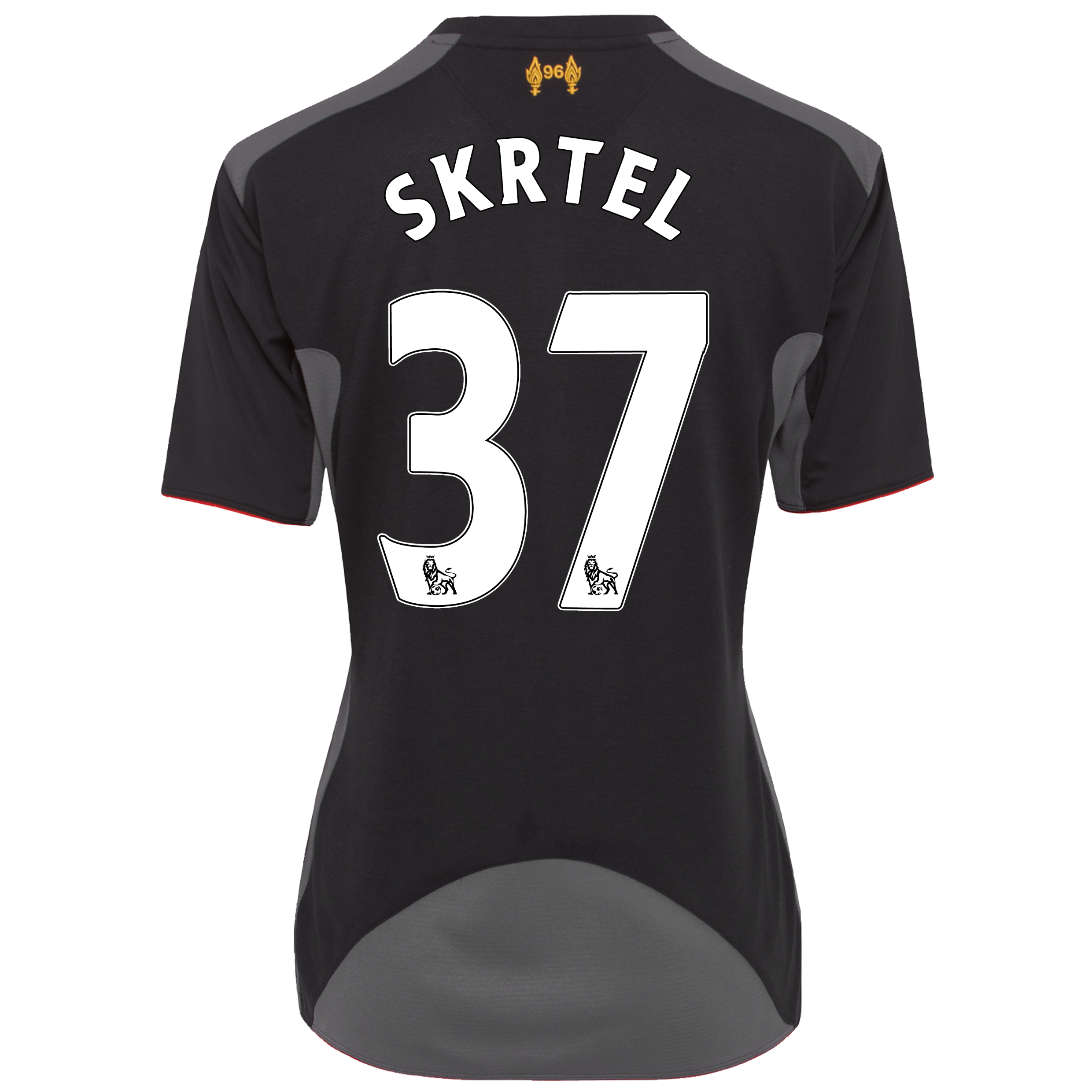 Liverpool Away Shirt 2012/13 - Womens with Skrtel 37 printing