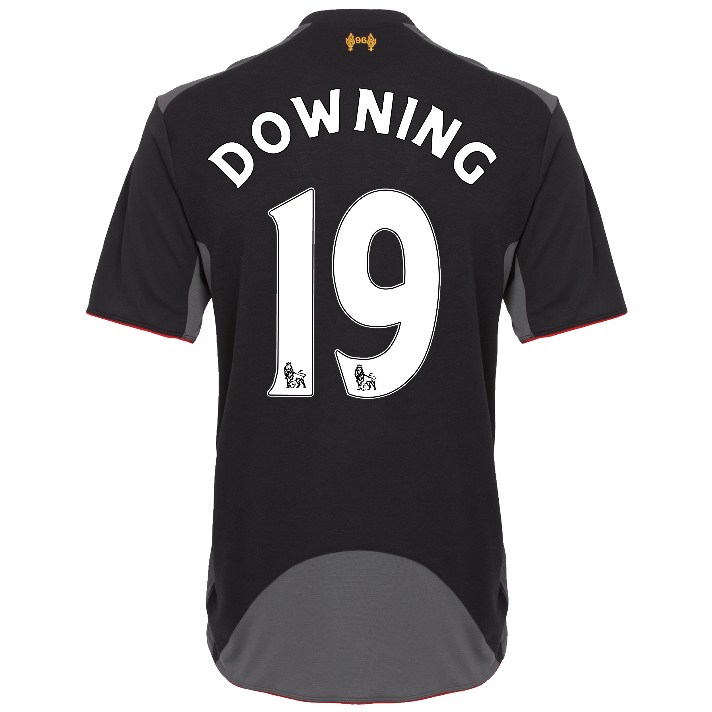 Liverpool Away Shirt 2012/13 - Youths with Downing 19 printing
