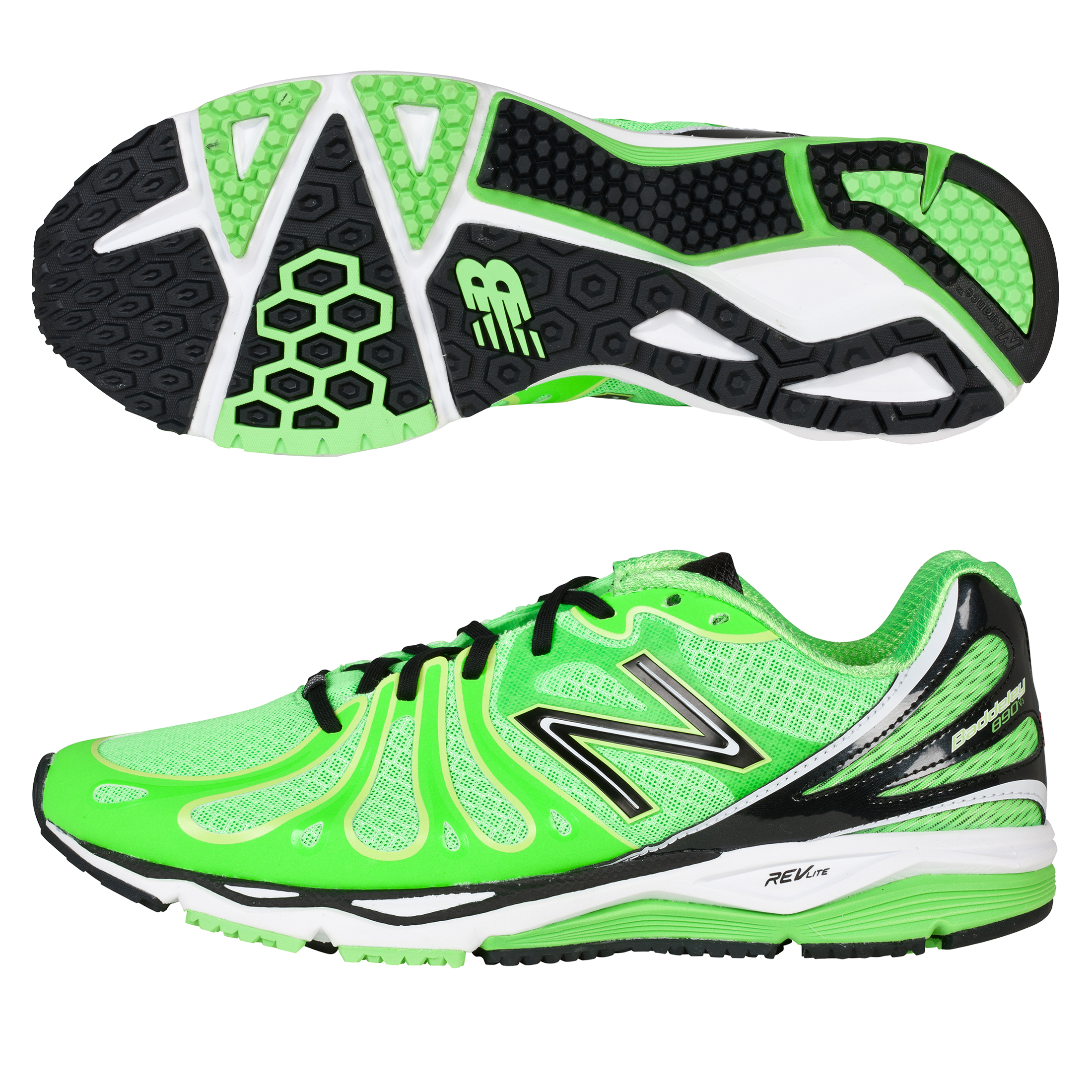 New Balance M890 Speed Running Trainers - Green