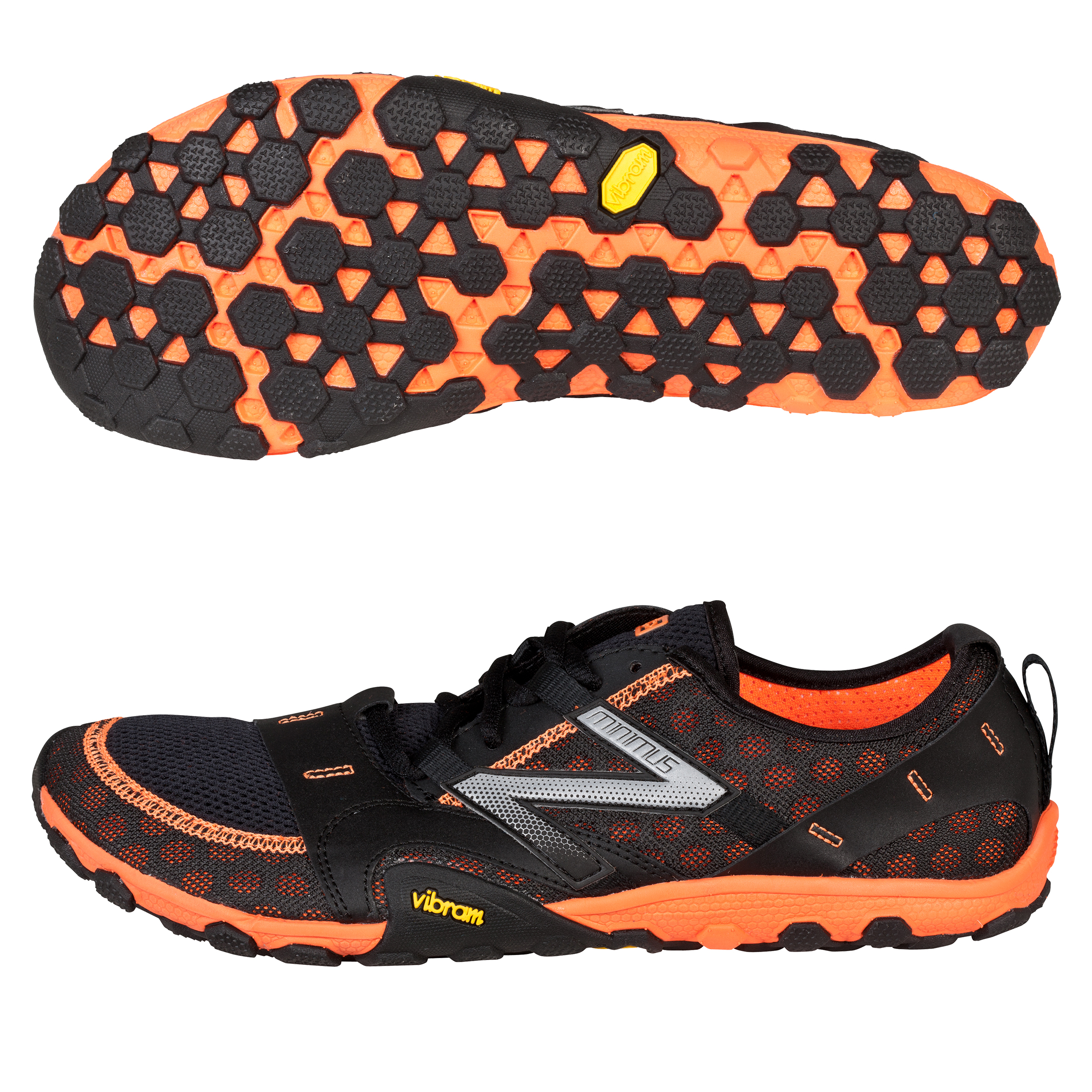 New Balance MT10 Minimus Running Trainers - Black/Orange