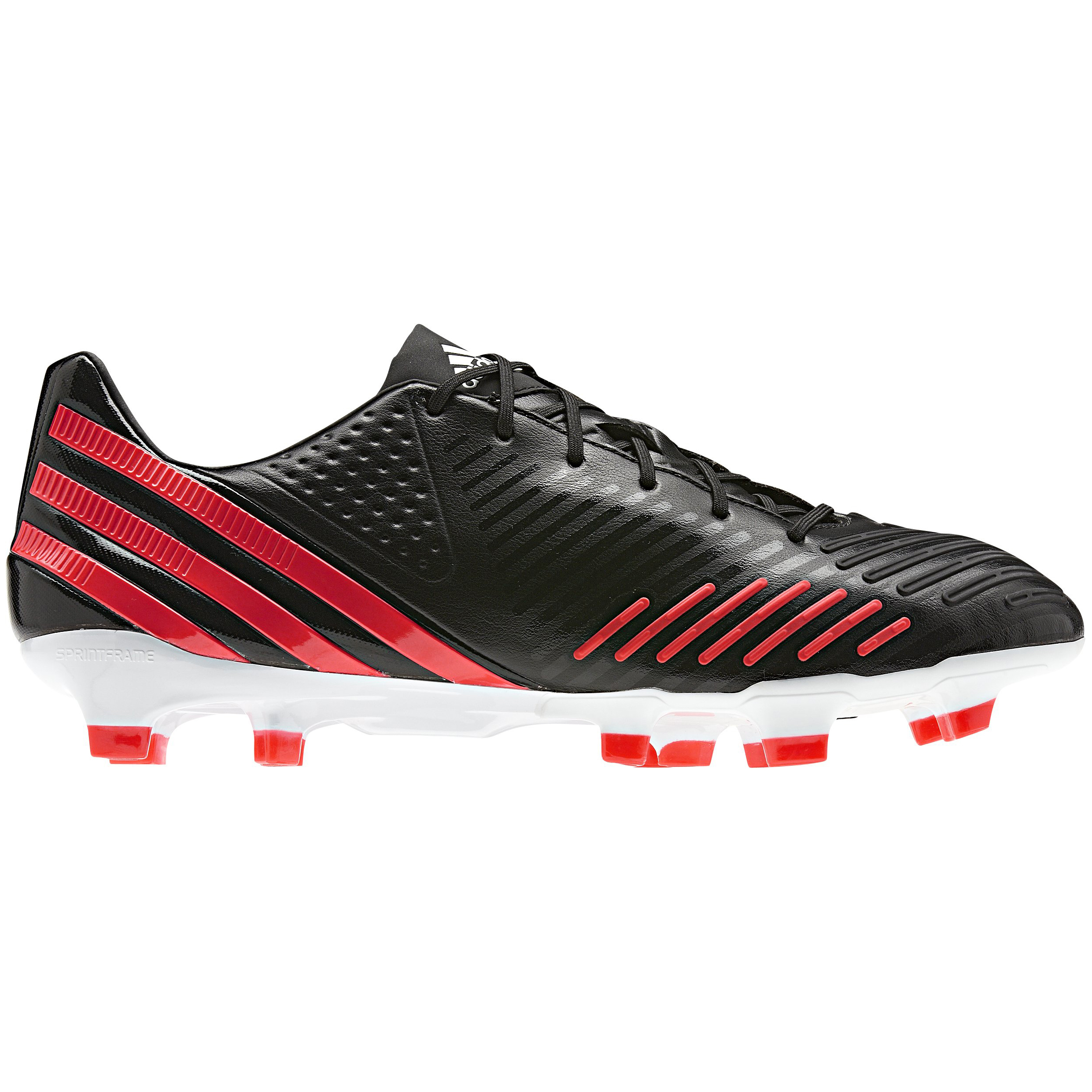 adidas Predator LZ TRX Firm Ground Football Boots - Black/Pop/Running White
