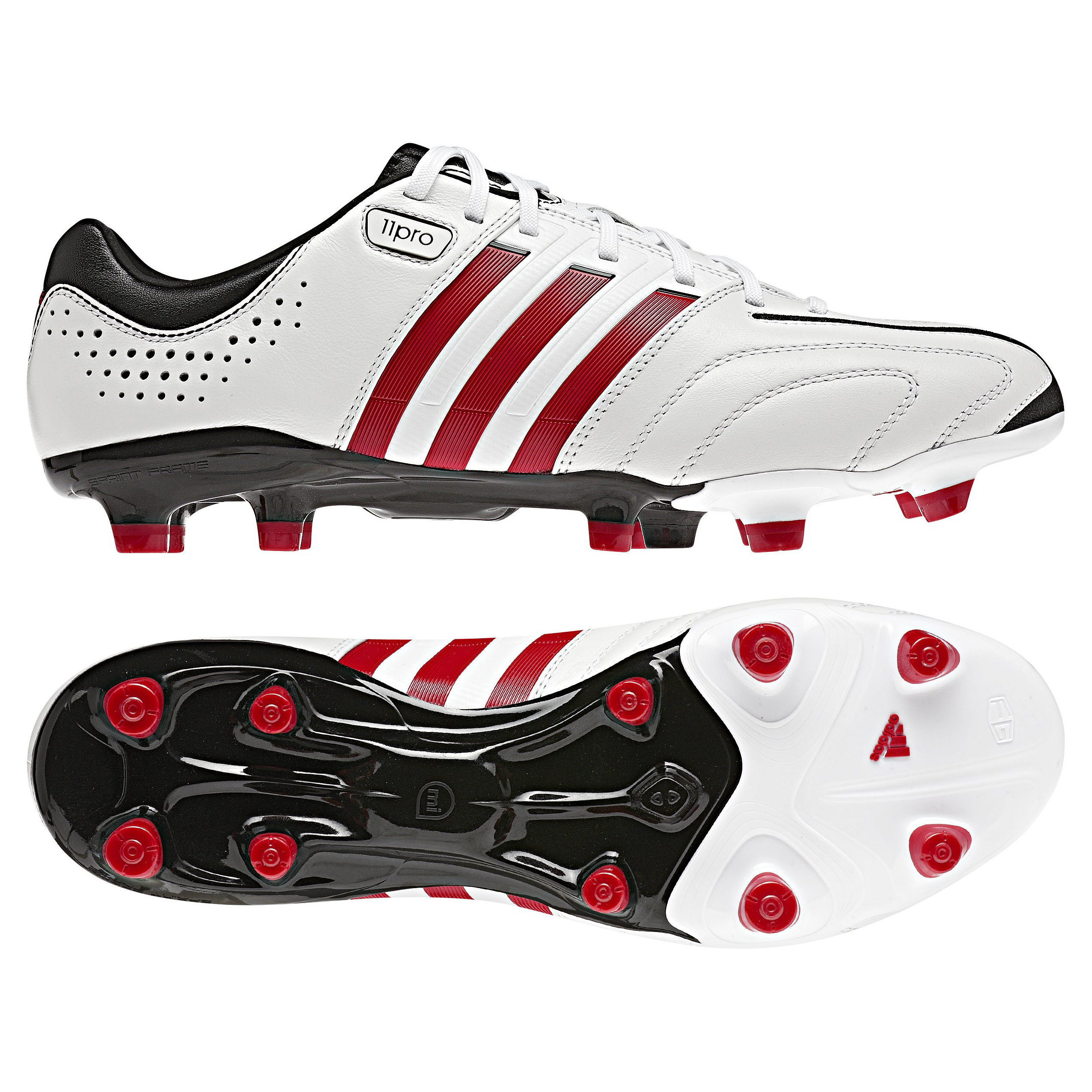 adidas AdiPure 11Pro TRX Firm Ground Football Boots - Running White/Vivid Red/Black