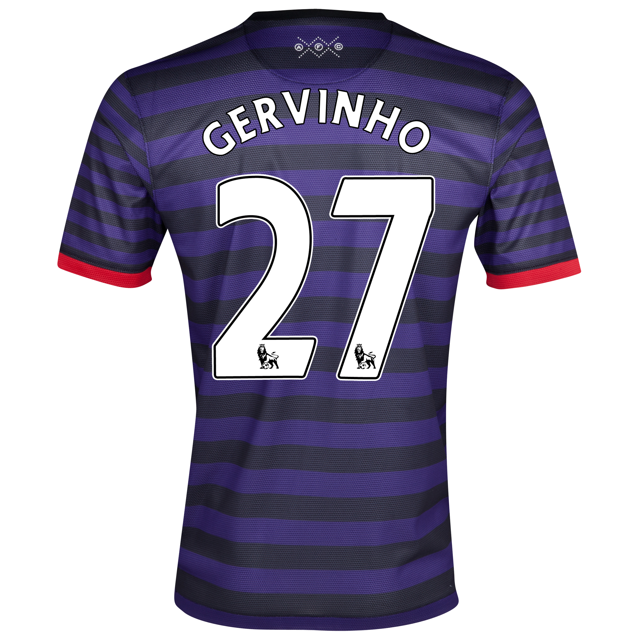 Arsenal Away Shirt 2012/13 with Gervinho 27 printing