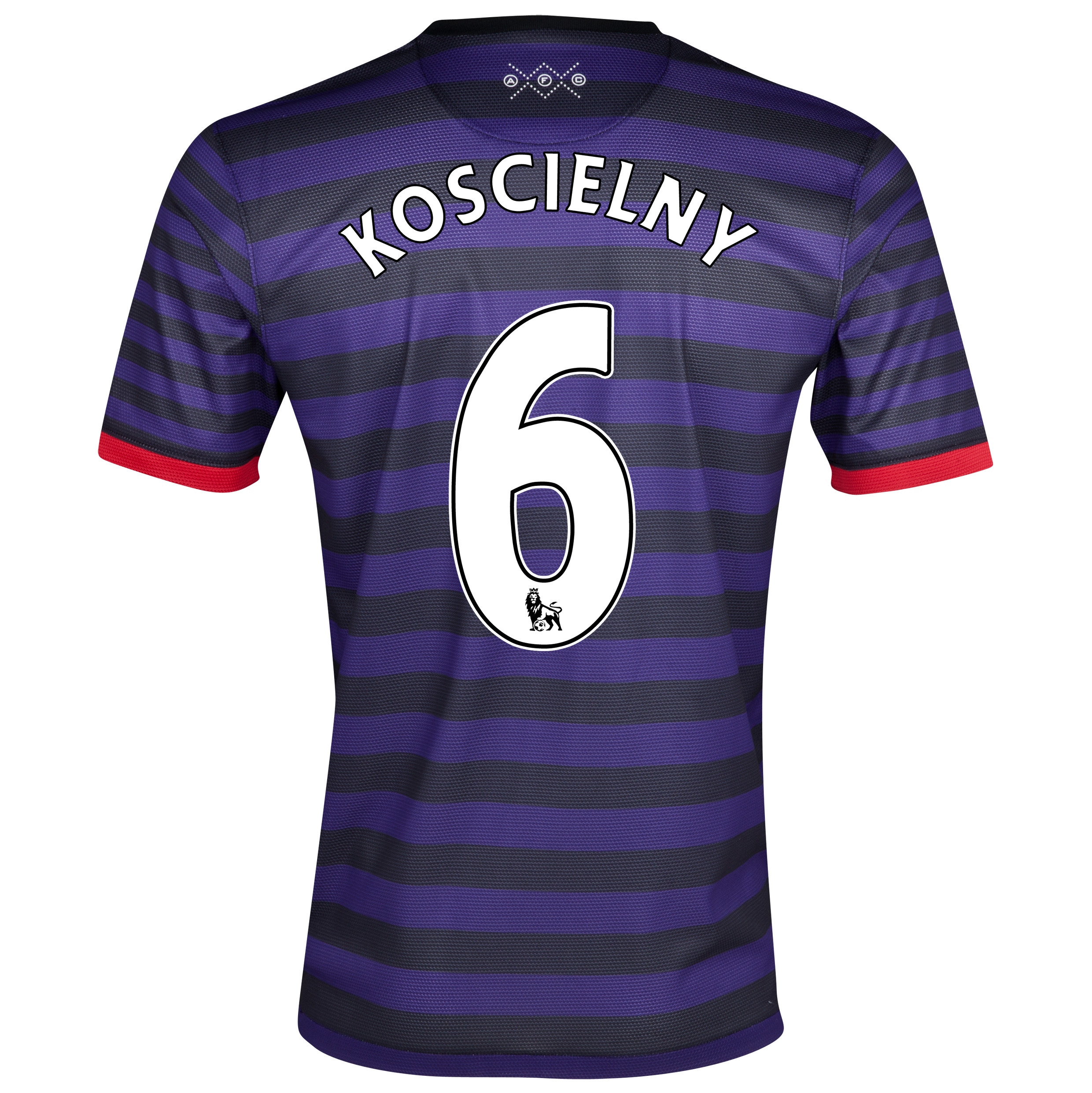 Arsenal Away Shirt  2012/13 - Youths with Koscielny 6 printing