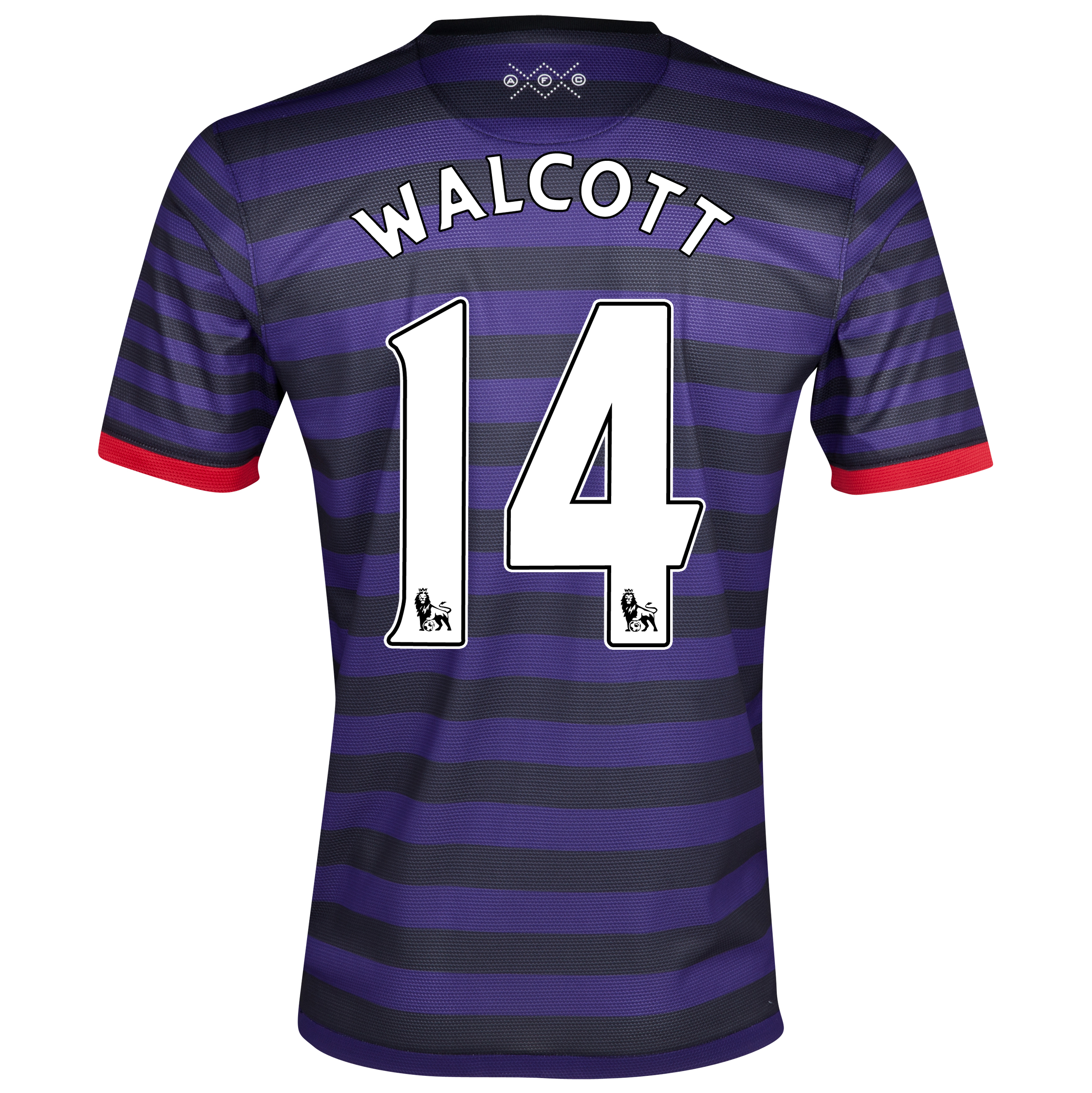 Arsenal Away Shirt  2012/13 - Youths with Walcott 14 printing