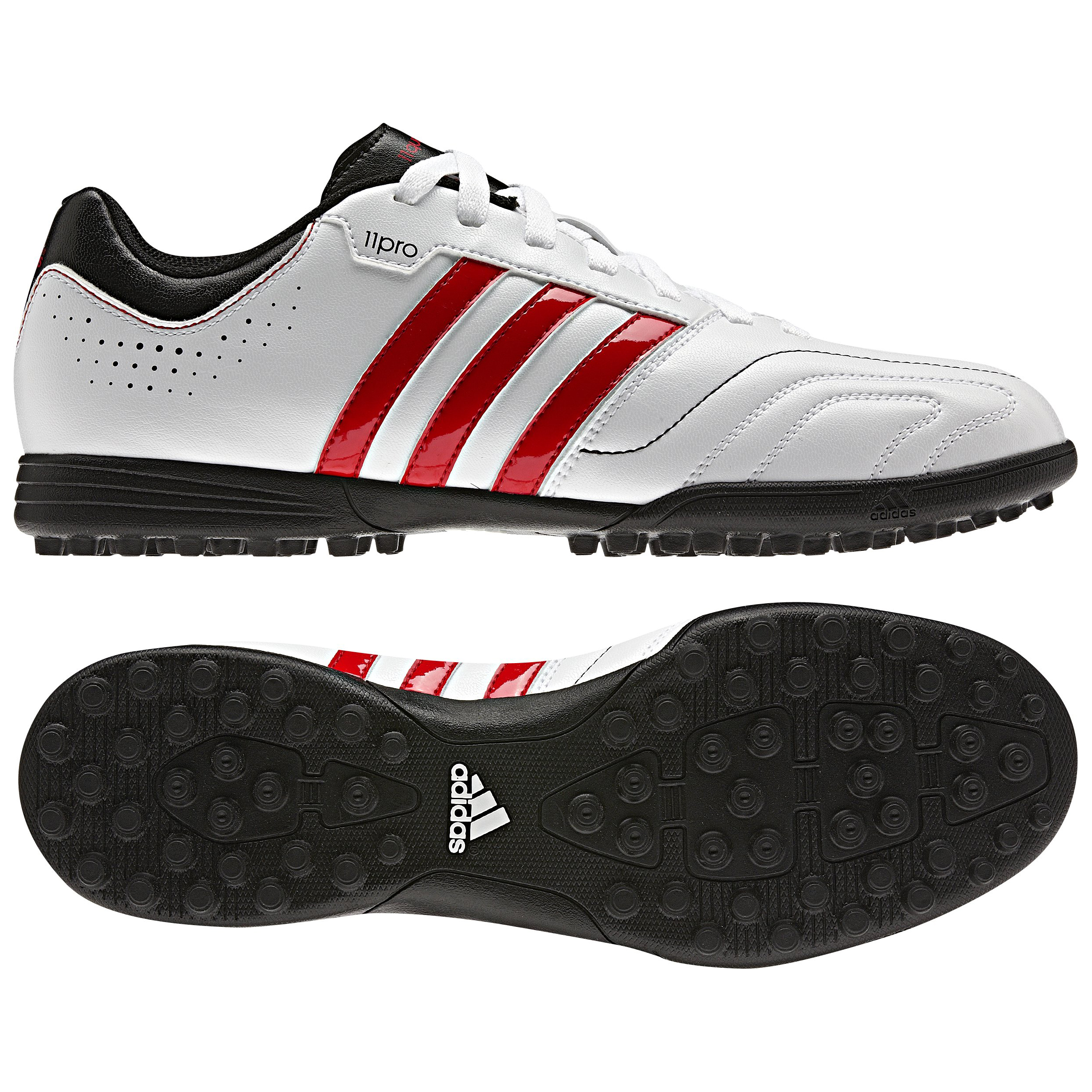 adidas 11Questra TRX Astroturf Trainers - Running White/Vivid Red/Black