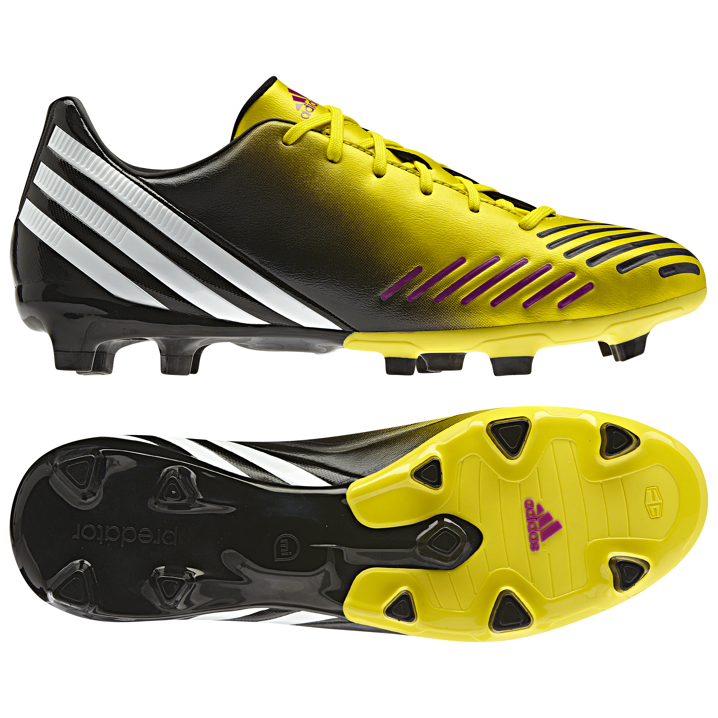 adidas Predator Absolado LZ TRX Firm Ground Football Boots - Vivid Yellow/Running White/Black