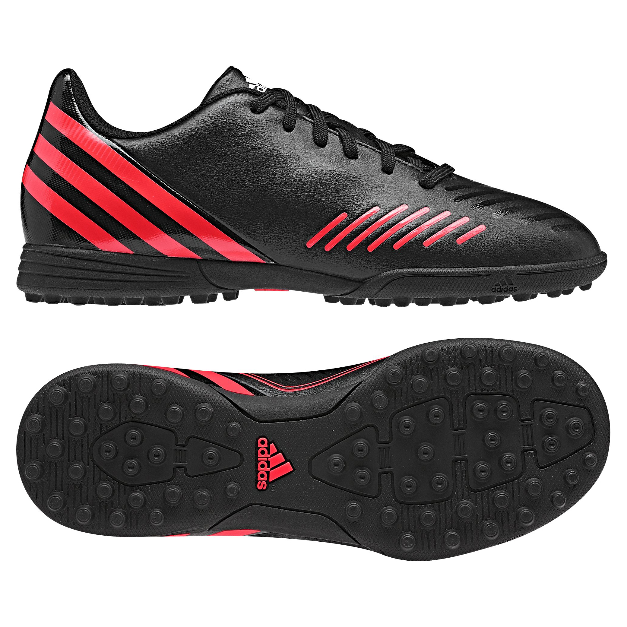 adidas Predito LZ TRX Astroturf Trainers  - Black/Pop/Running White - Kids