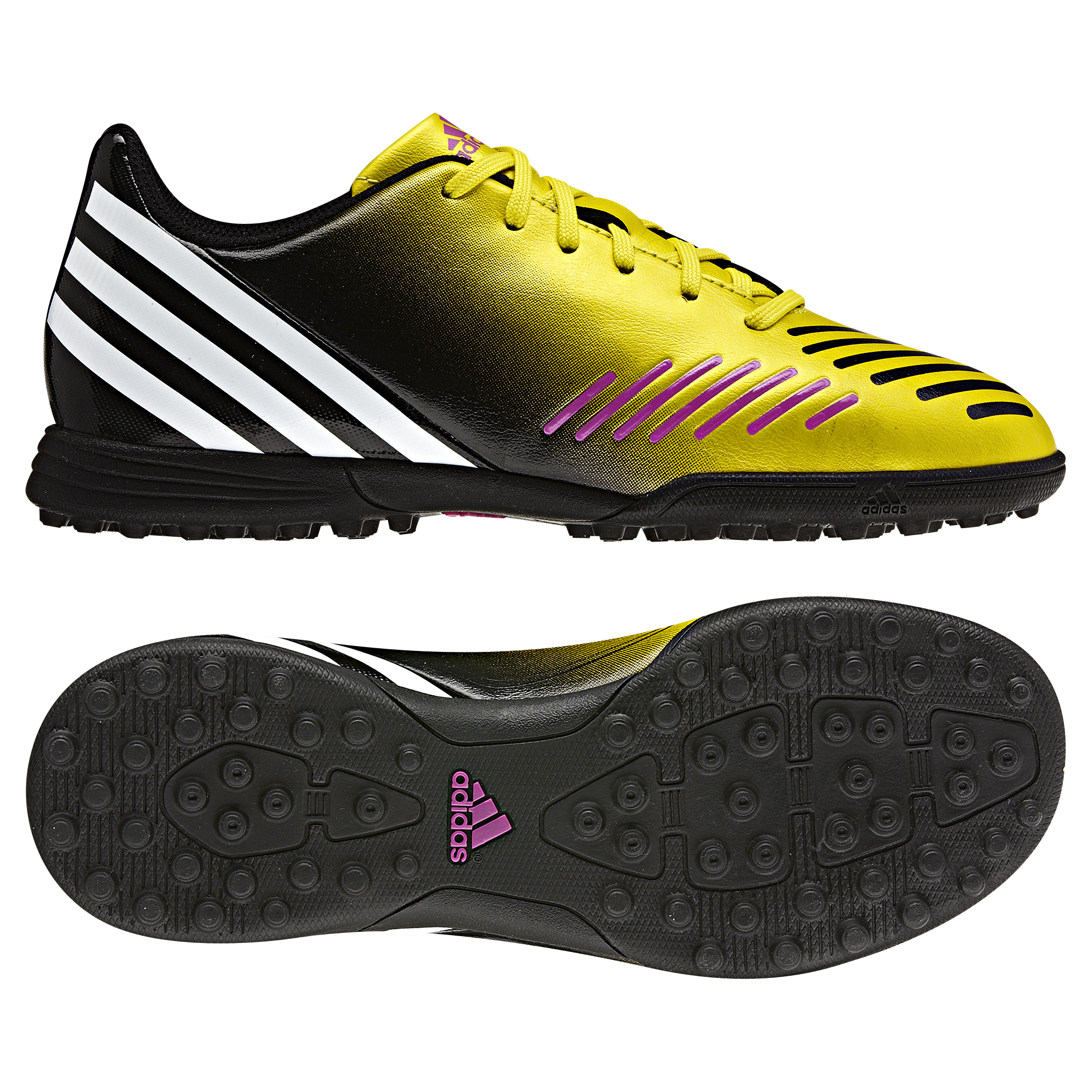 adidas Predito LZ TRX Astroturf Trainers - Vivid Yellow/Running White/Black - Kids