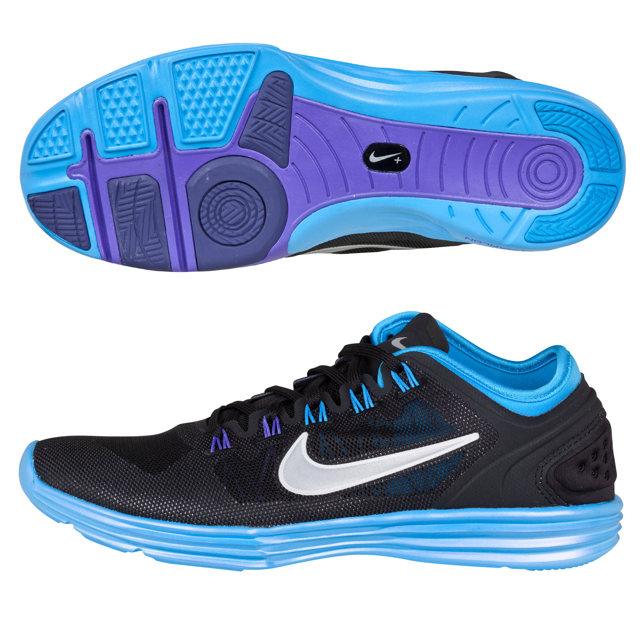 Nike Lunarhyperworkout - Black/Silver/Blue - Womens