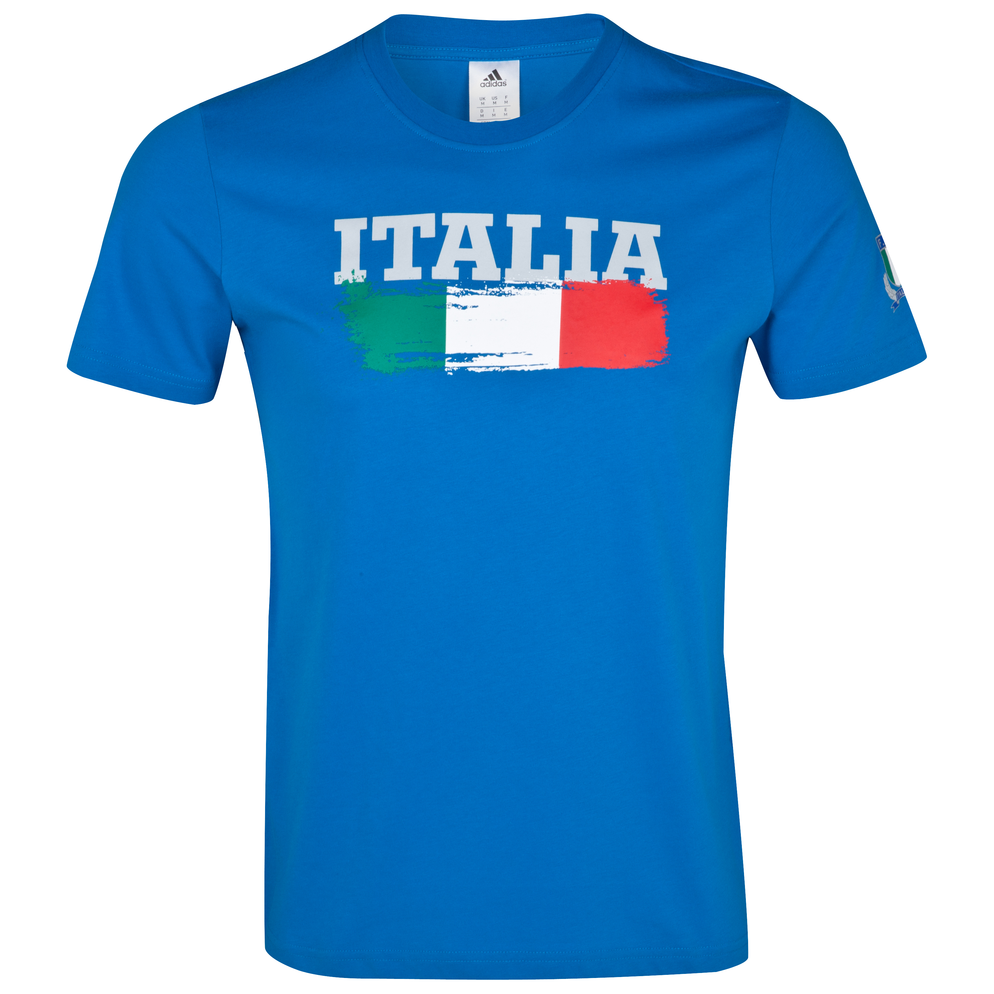 Italy Rugby T-Shirt - Craft Blue