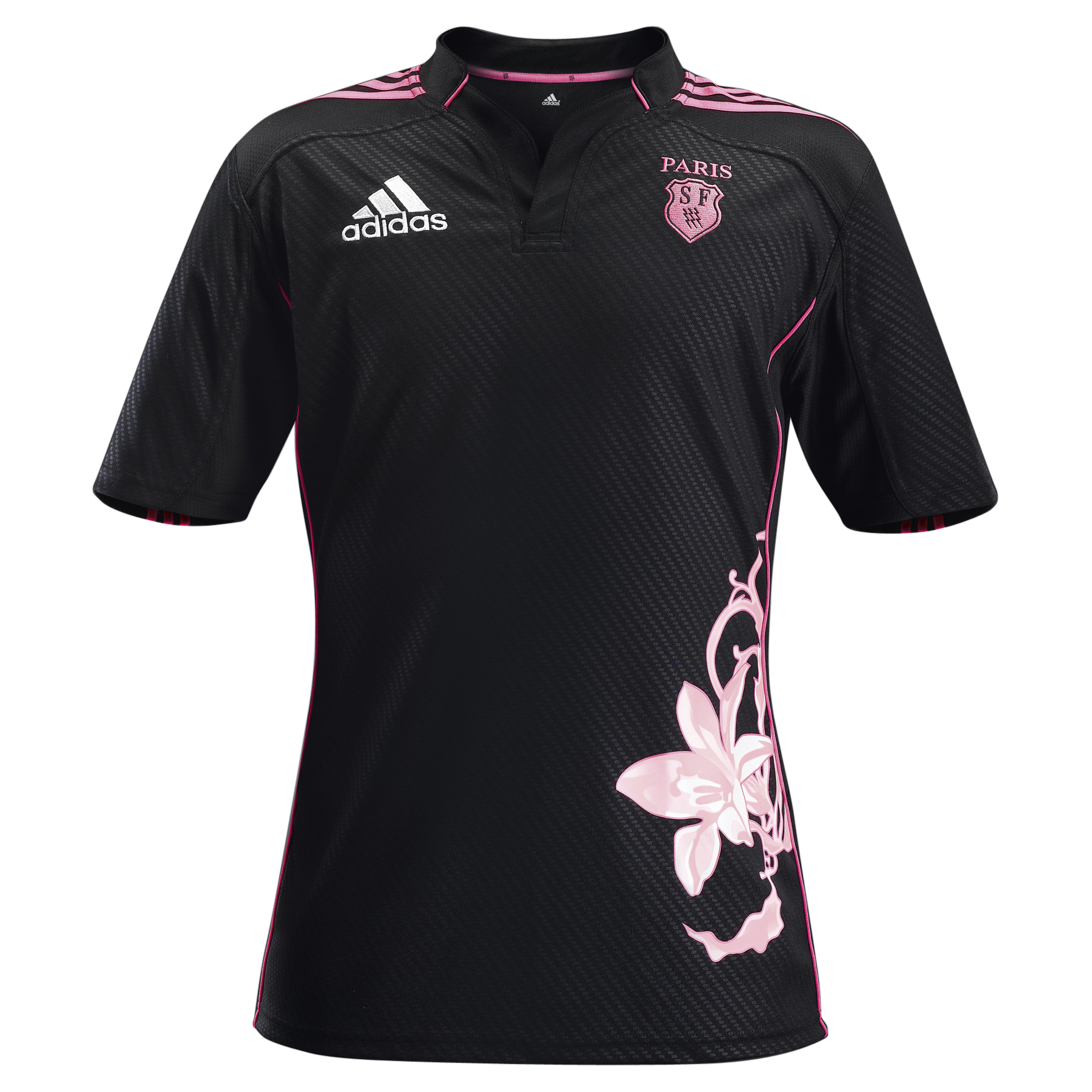 Stade Francais Away Shirt 2012/13 - Black/Ultra Pop