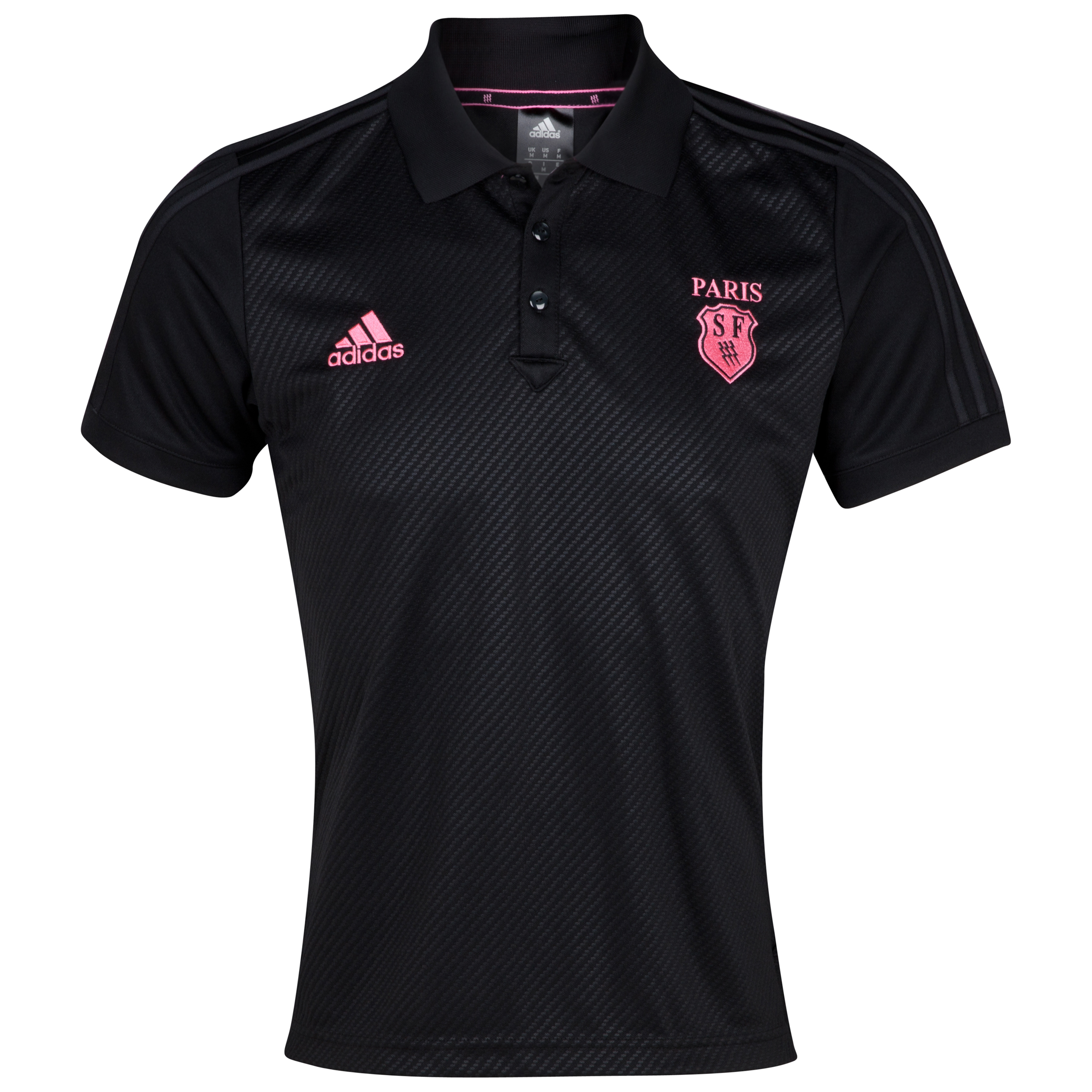 Stade Francais Polo - Black/Ultra Pop