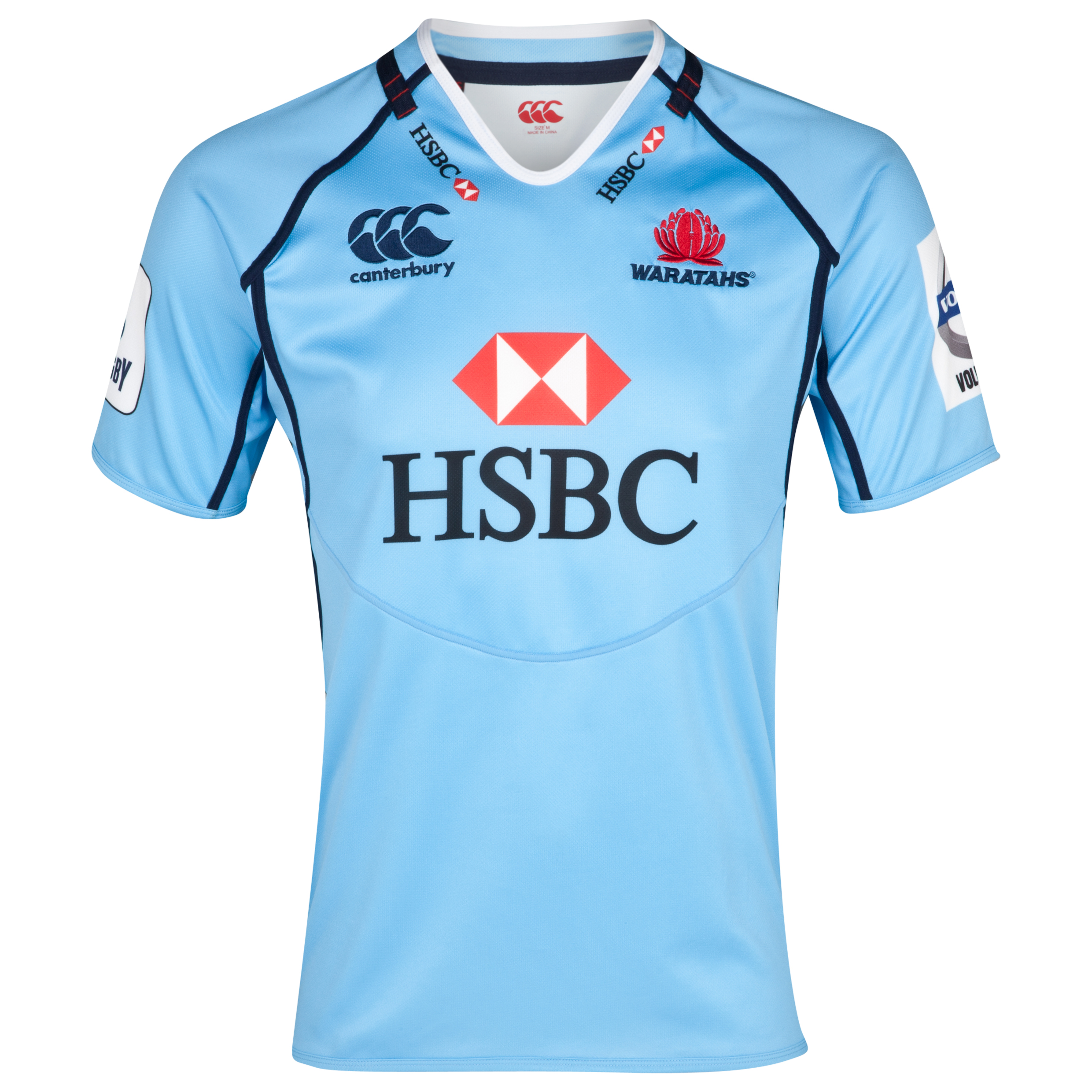 Waratahs Super 15 Home Pro Shirt 2013/15 - Waratah Blue