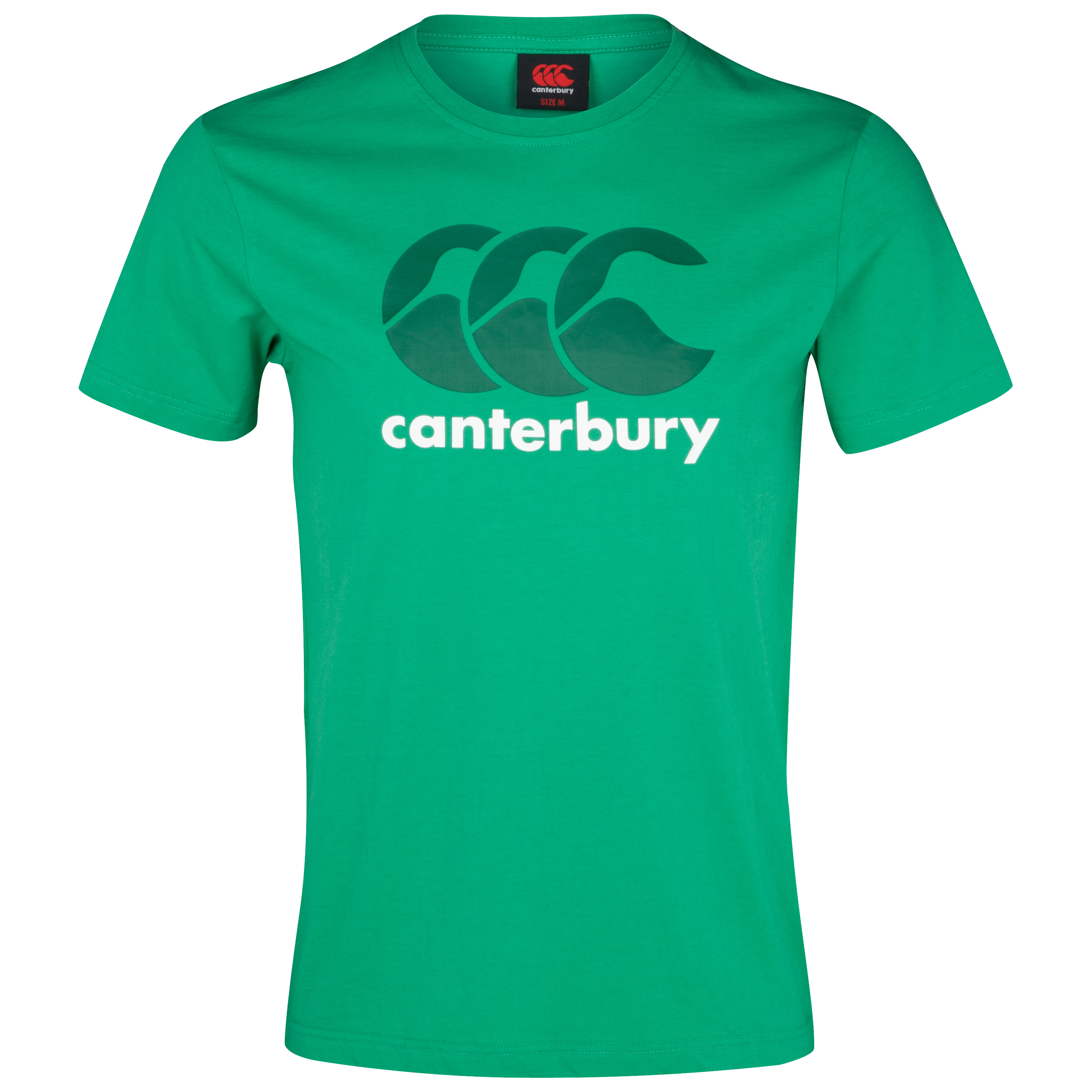 Canterbury CCC Logo T-Shirt - House Green/Evergreen
