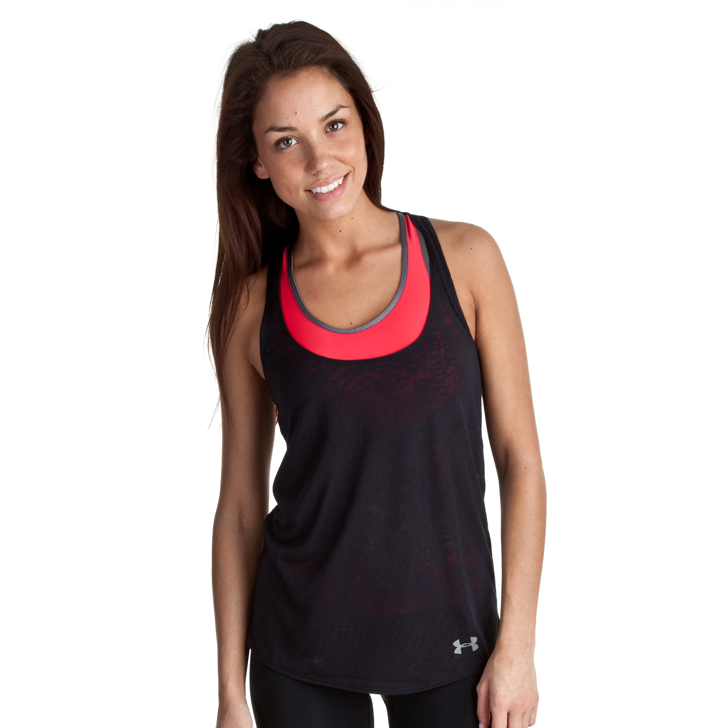 Under Armour Achieve Tank - Black/Steel - Womens