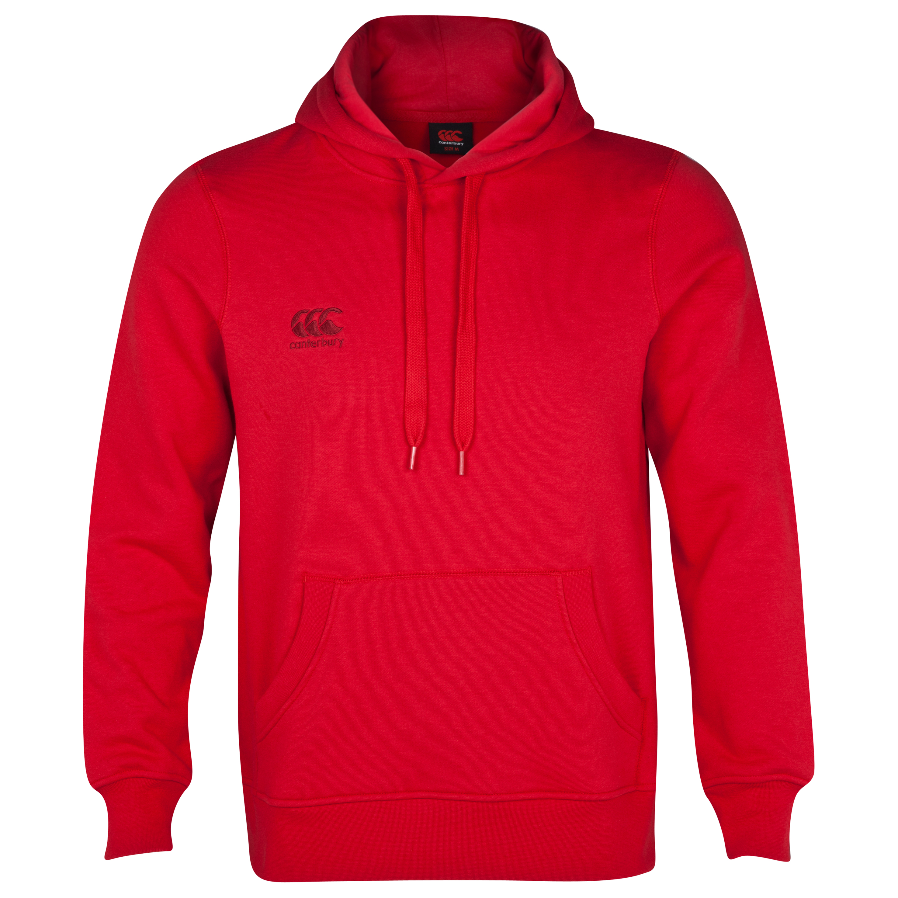 Canterbury Small Logo Hoody - Flag Red