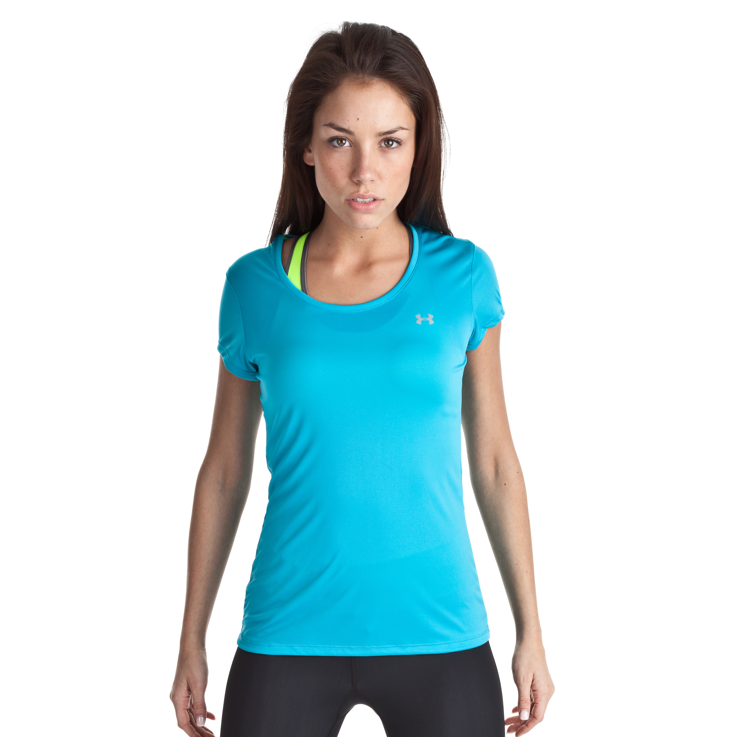 Under Armour Heat Gear Flyweight Tee - Deceit/Reflective - Womens