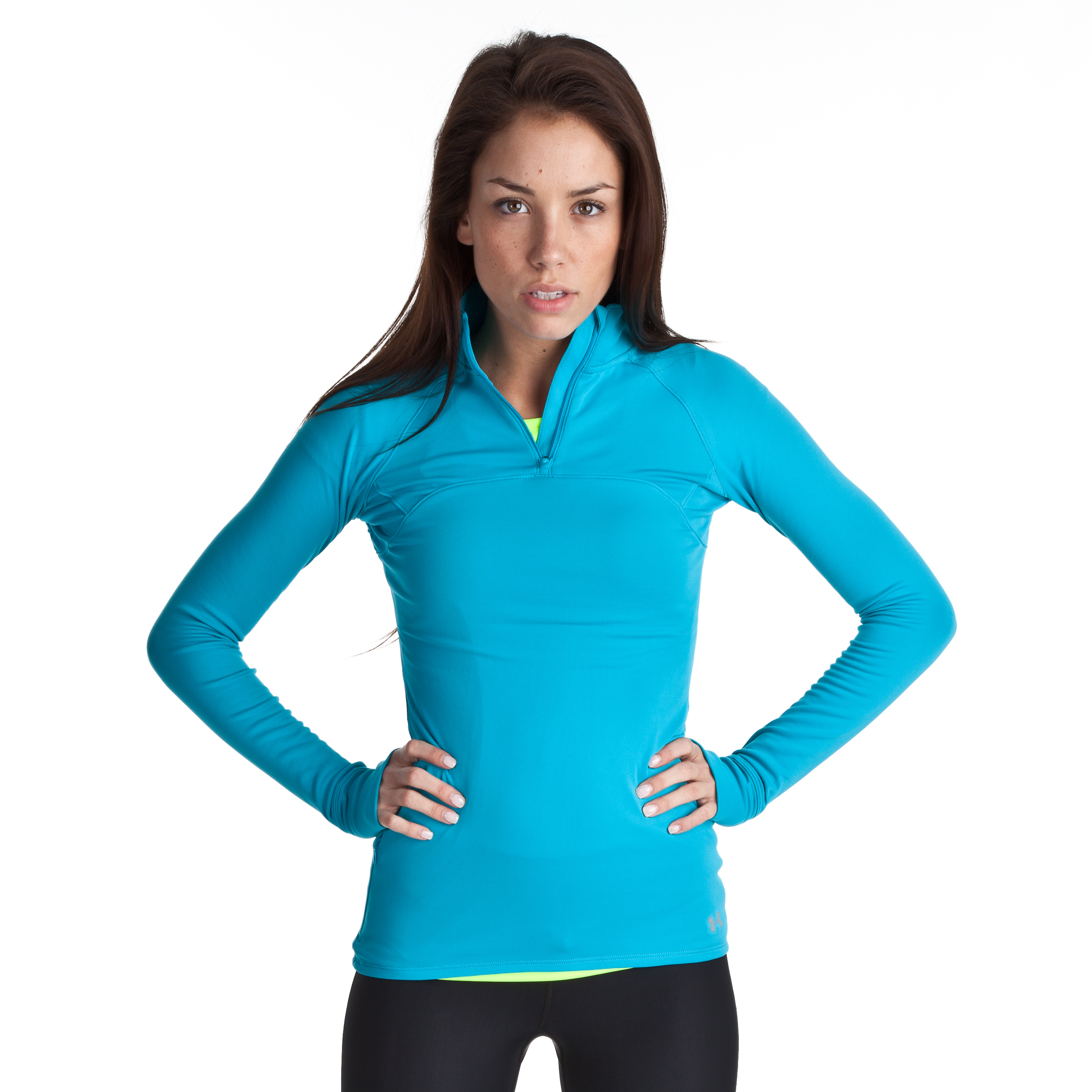 Under Armour Escape 1/4 Zip III - Deceit/Reflective - Womens