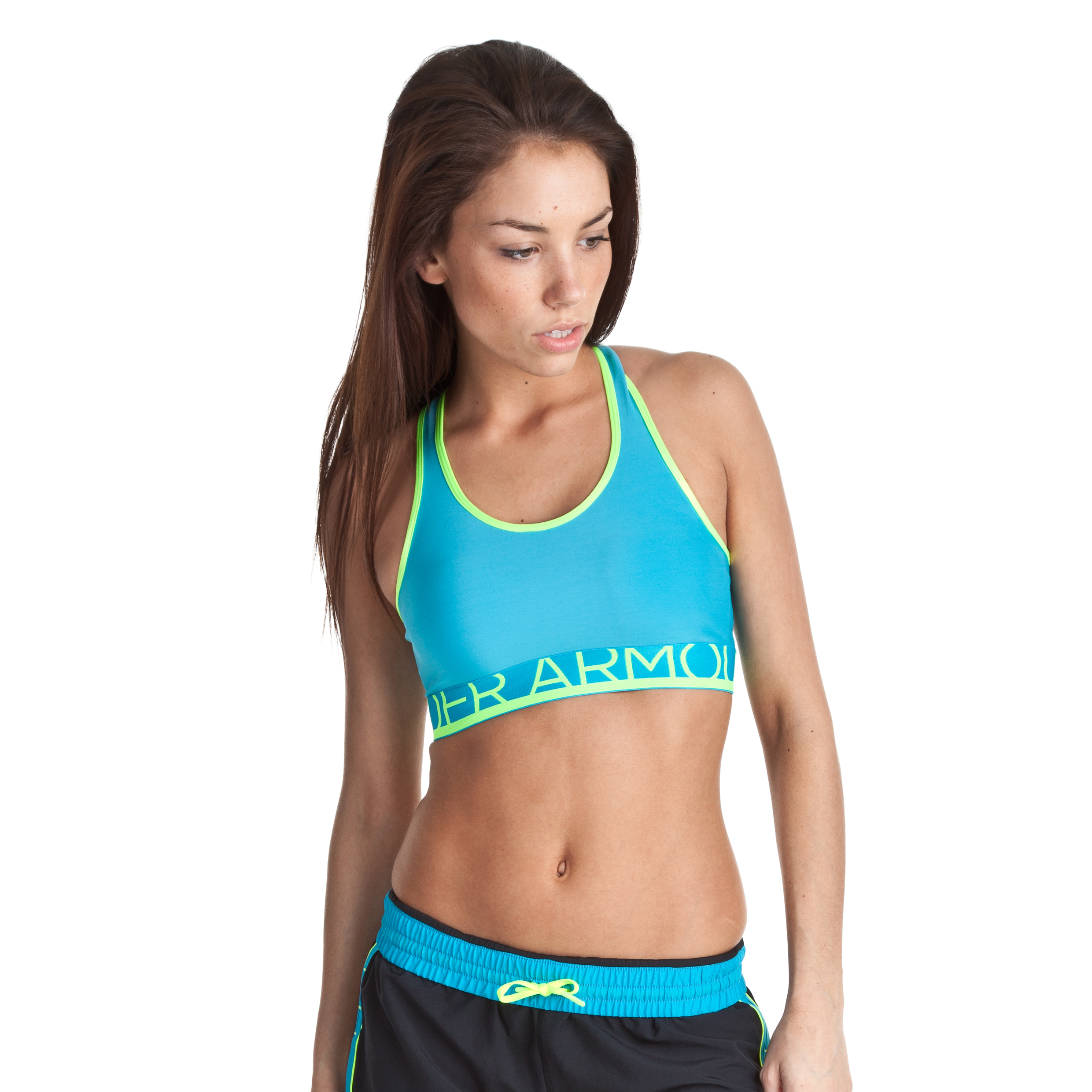 Under Armour Still Gotta Have It Bra - Deceit/High Vis - Womens
