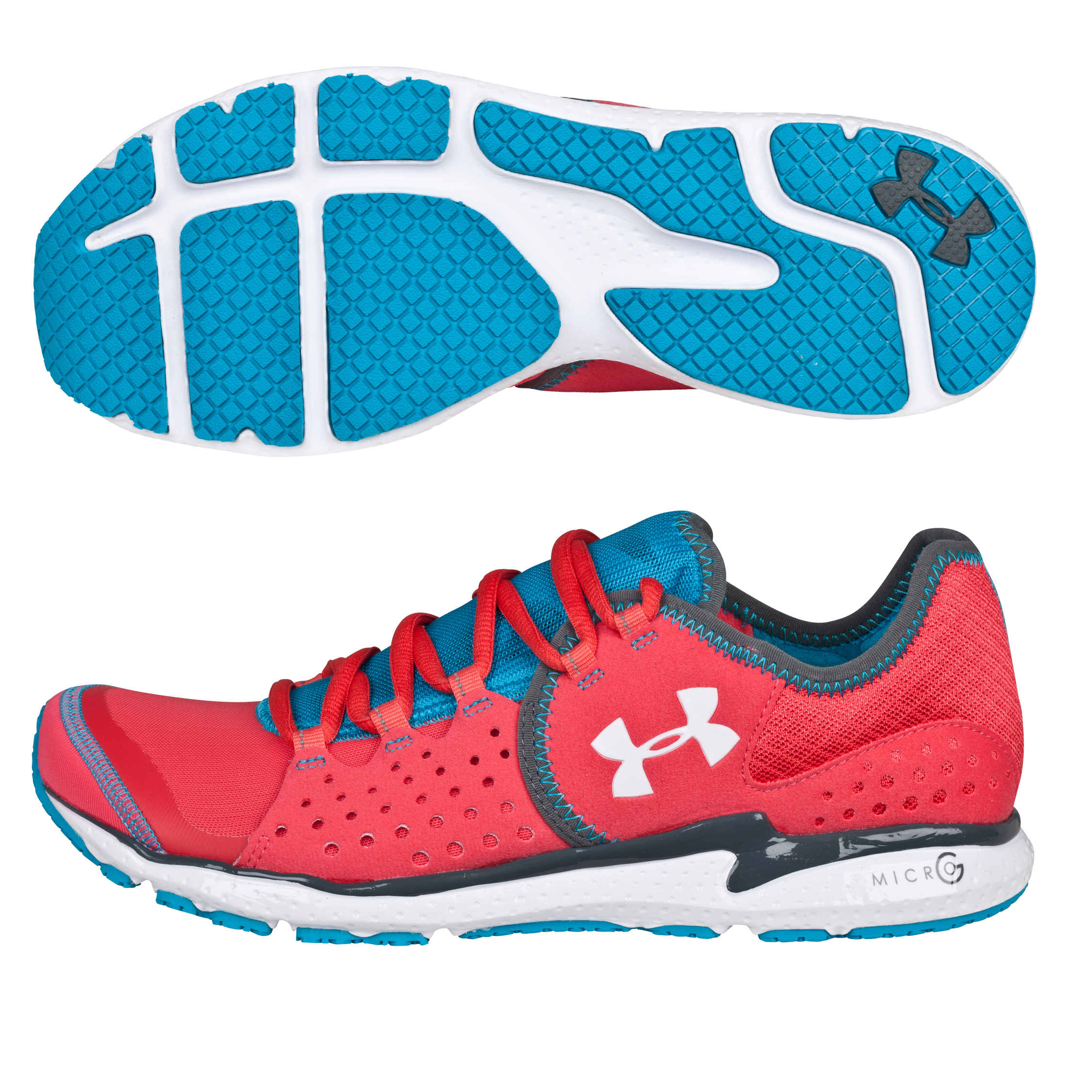 Under Armour Micro G Mantis - Hibiscus/White/Deceit - Womens