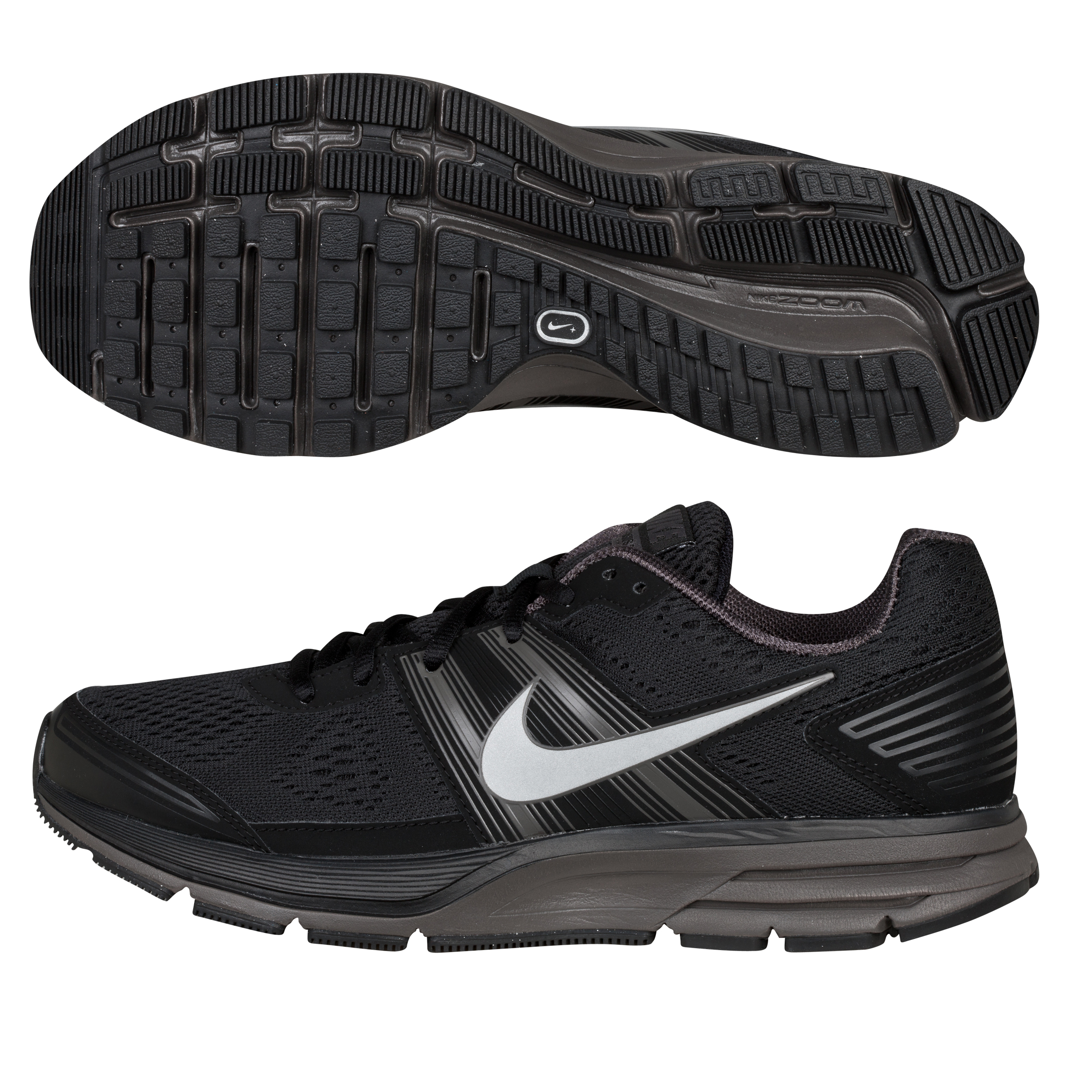 Nike Air Pegasus+ 29 Running Neutral Trainer - Black