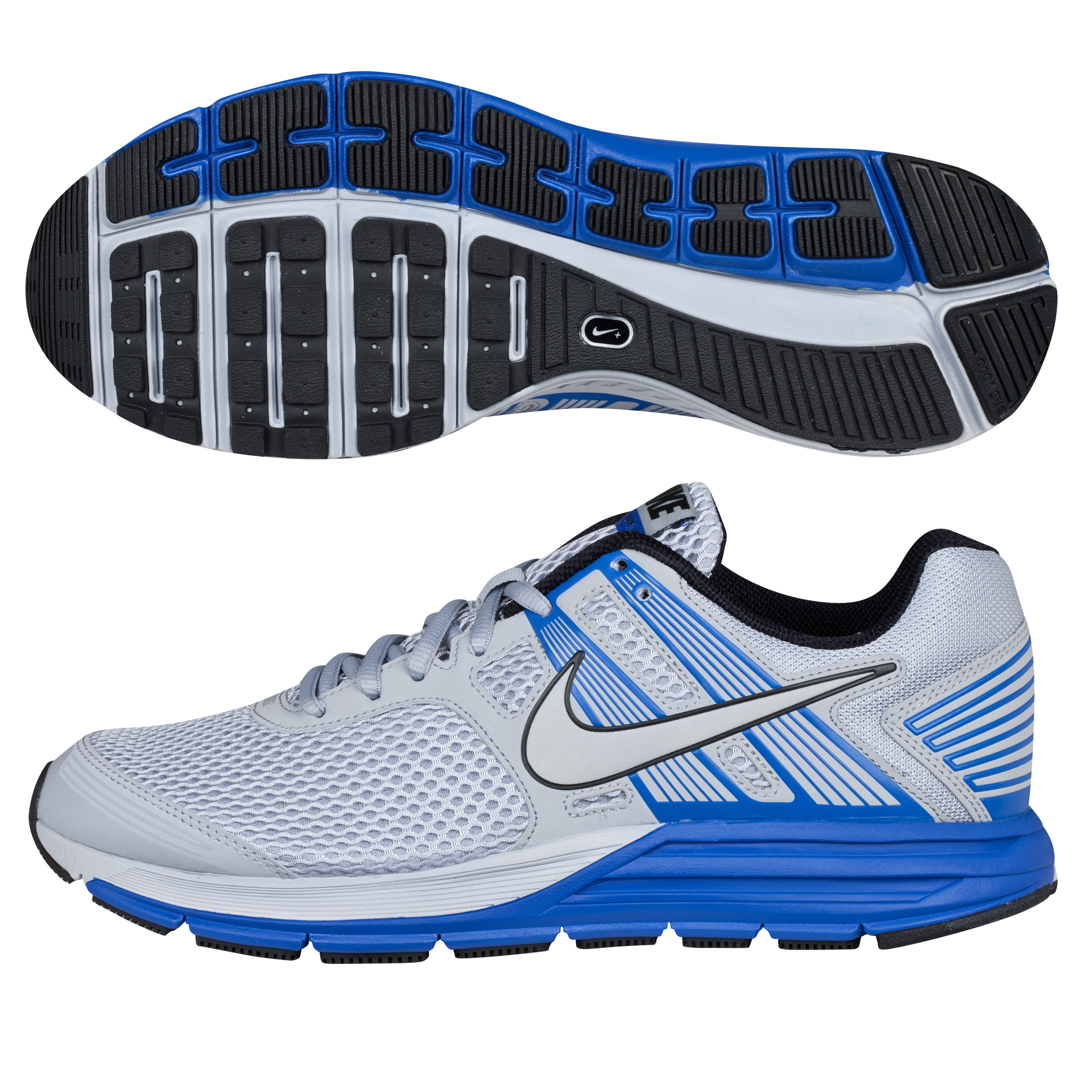 Nike Zoom Structure+ Stability Trainer - Wolf Grey/Silver