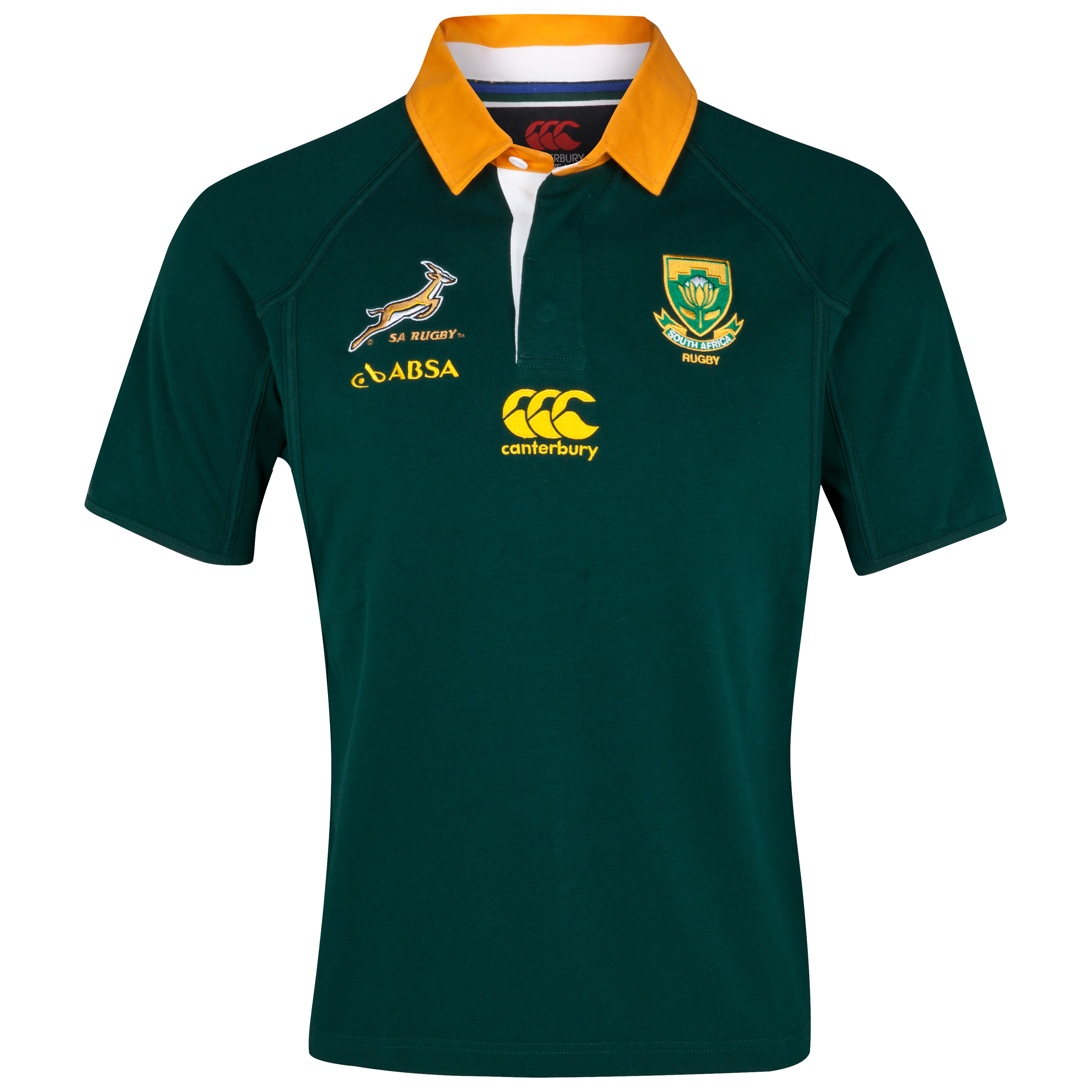 Springboks Home Classic Shirt 2011/12 - Bottle Green