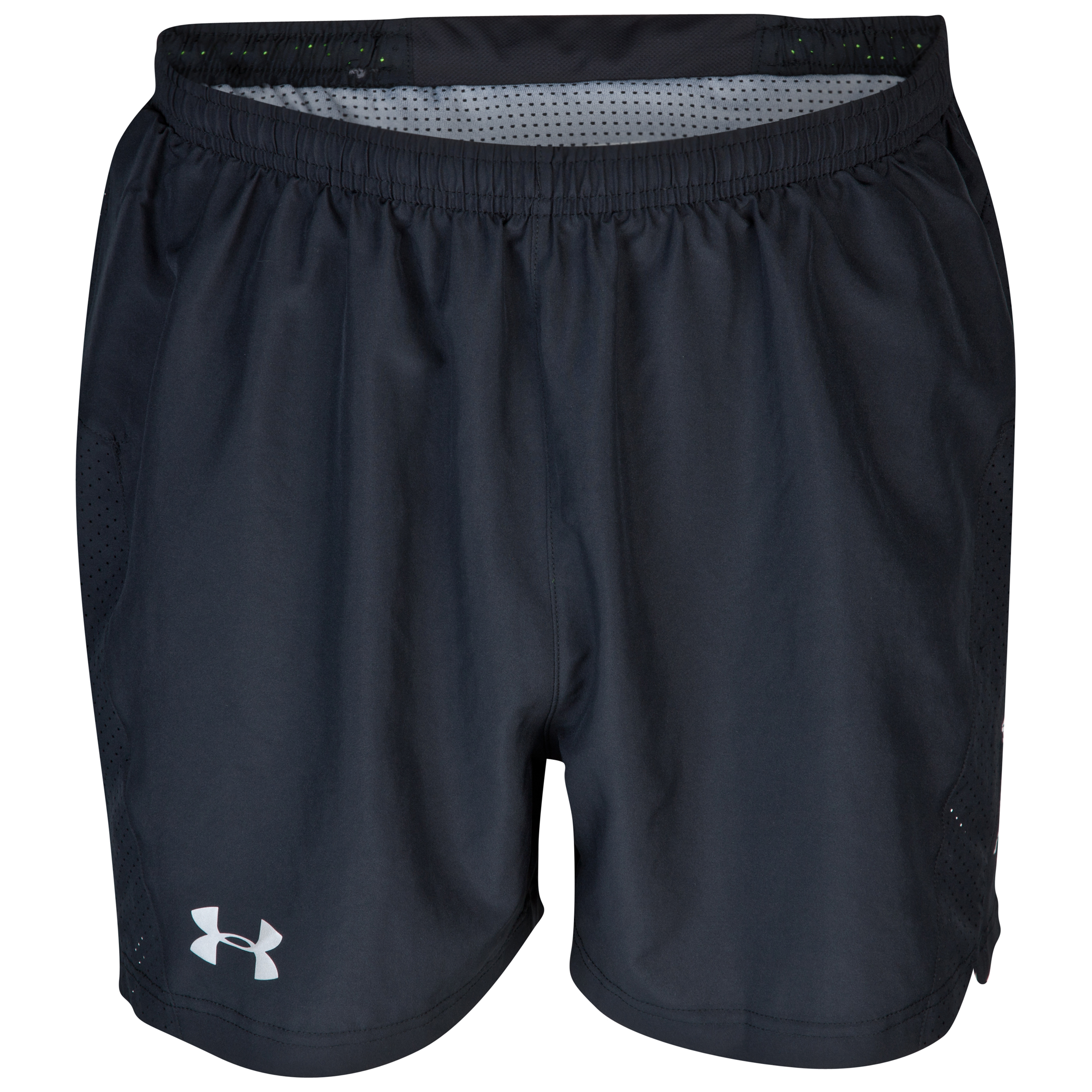 Under Armour HG Flyweight 5 Inch Run Shorts - Black