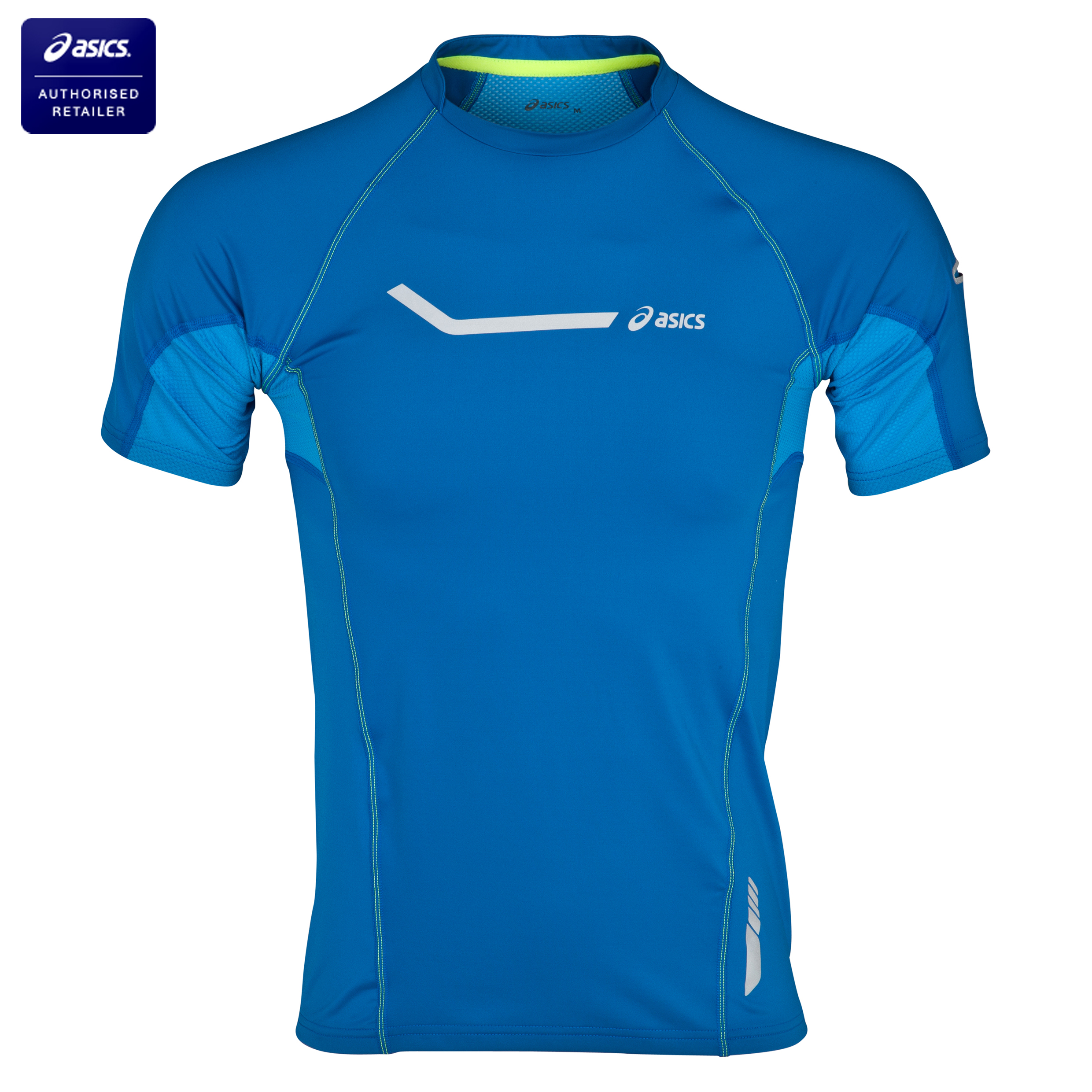 Asics Stretch Running Tee - Skydiver Blue