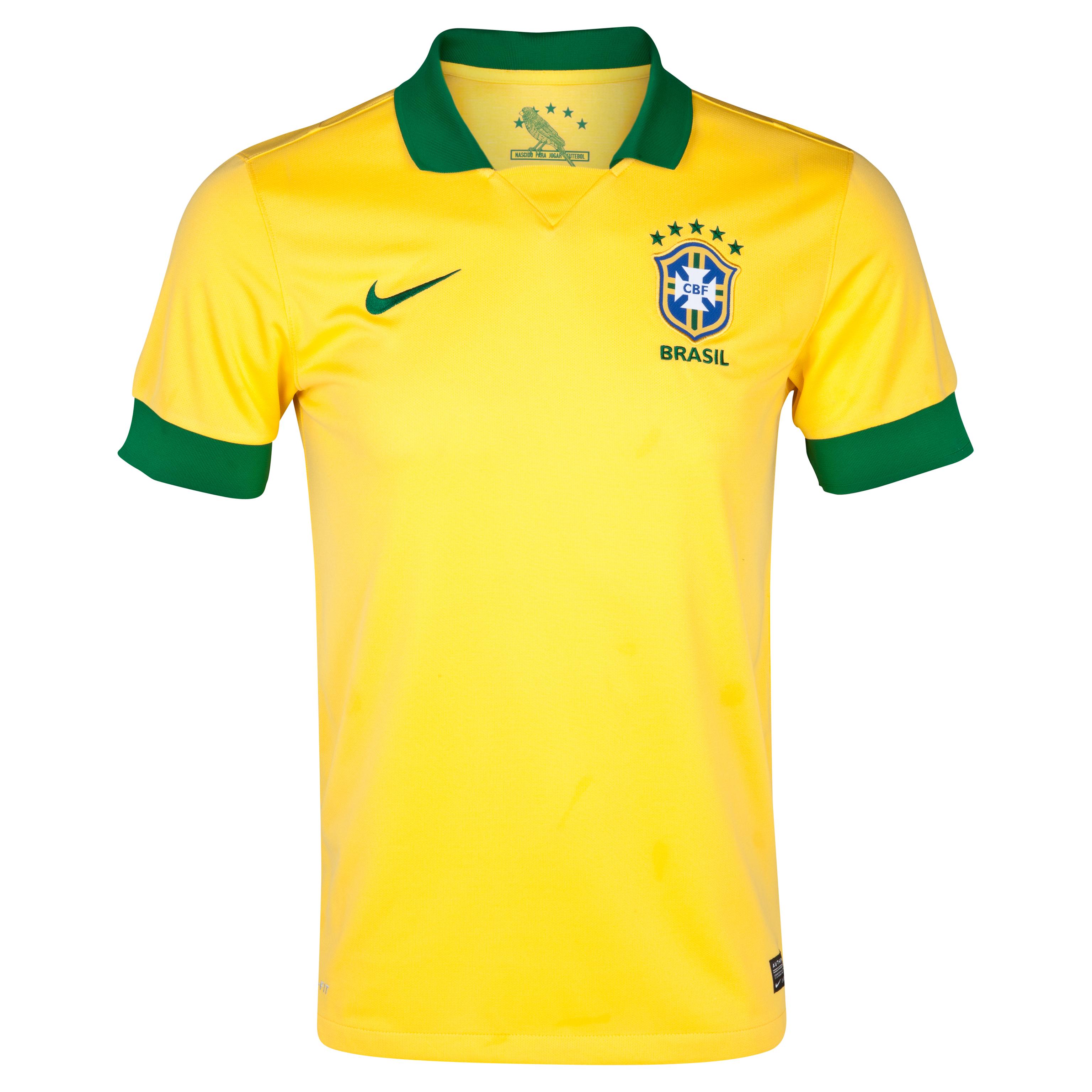 Brazil Home Shirt 2013/14