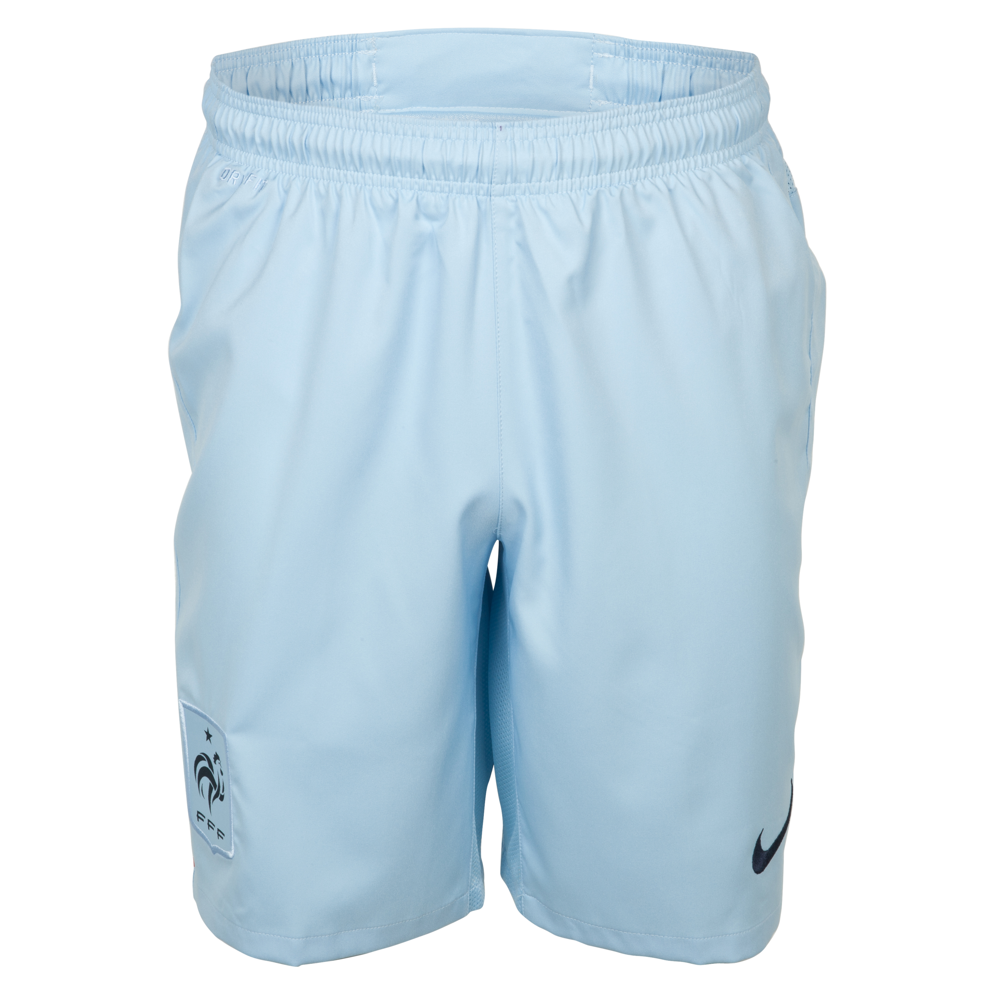 France Away Short 2013/14 - Ice Blue/Obsidian