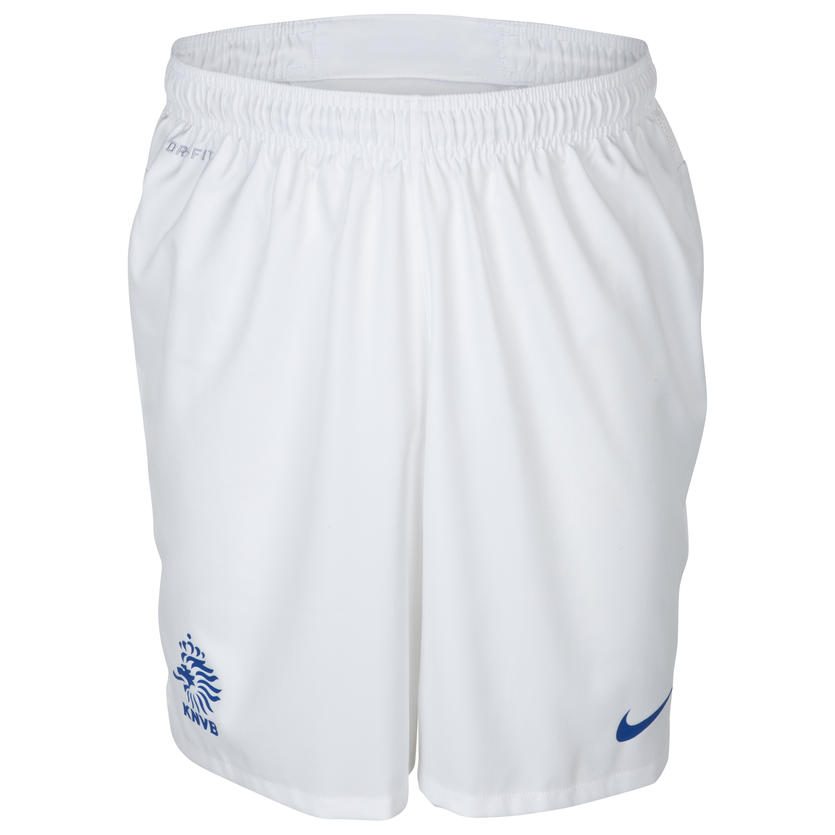 Netherlands Away Short 2013/14 - Football White/Varsity Royal
