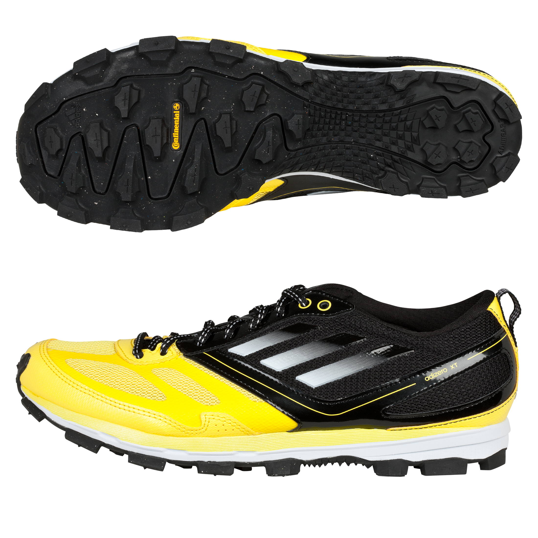 Adidas Adizero XT 4 Running Trainers - Vivid Yellow/Running White/Black