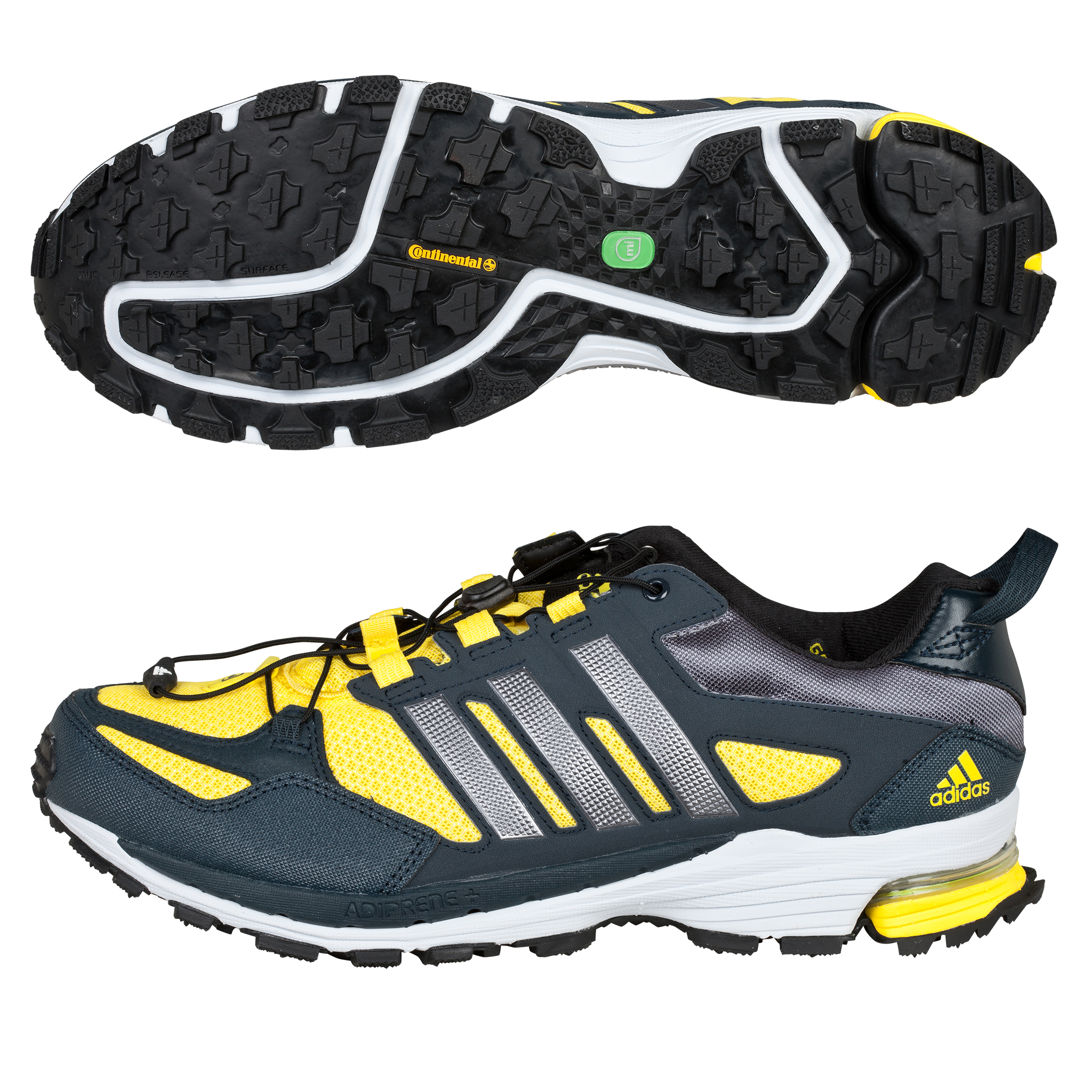 Adidas Supernova Riot 5 Running Trainers - Vivid Yellow/Neo Iron/Tech Onix
