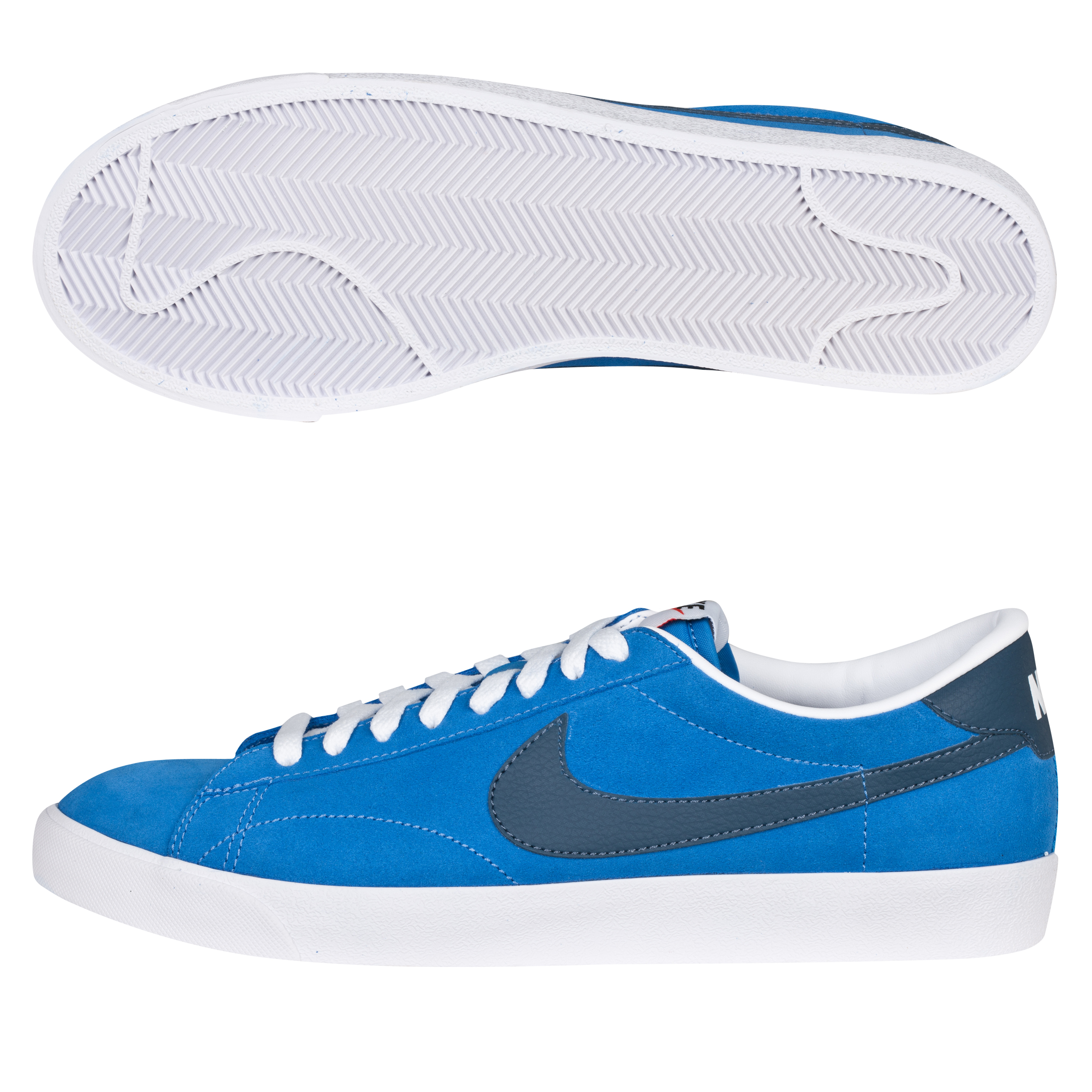Nike Tennis Classic AC Suede Trainer - Photo Blue/Squadron Blue