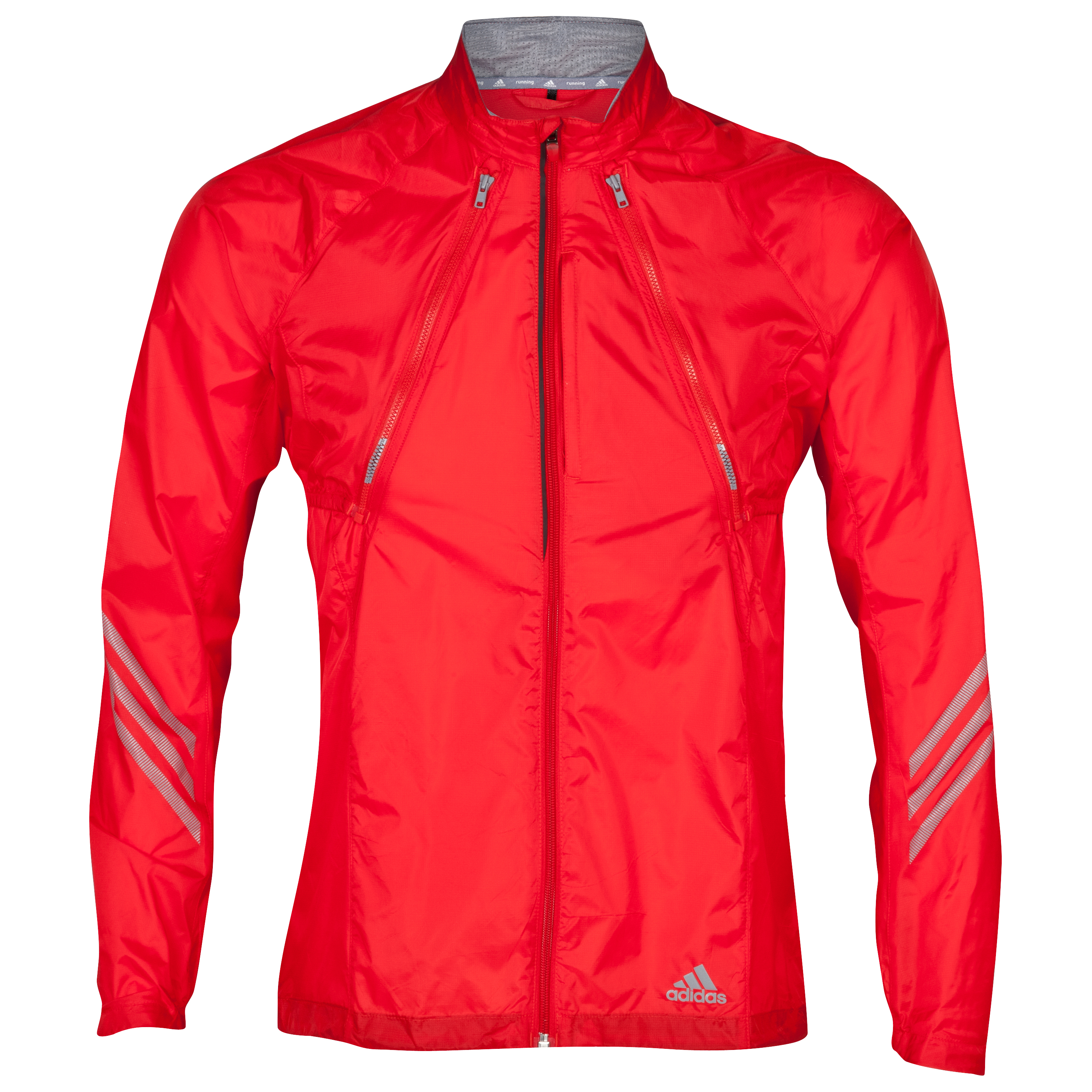Adidas Supernova Converter Jacket - Vivid Red/Tech Grey
