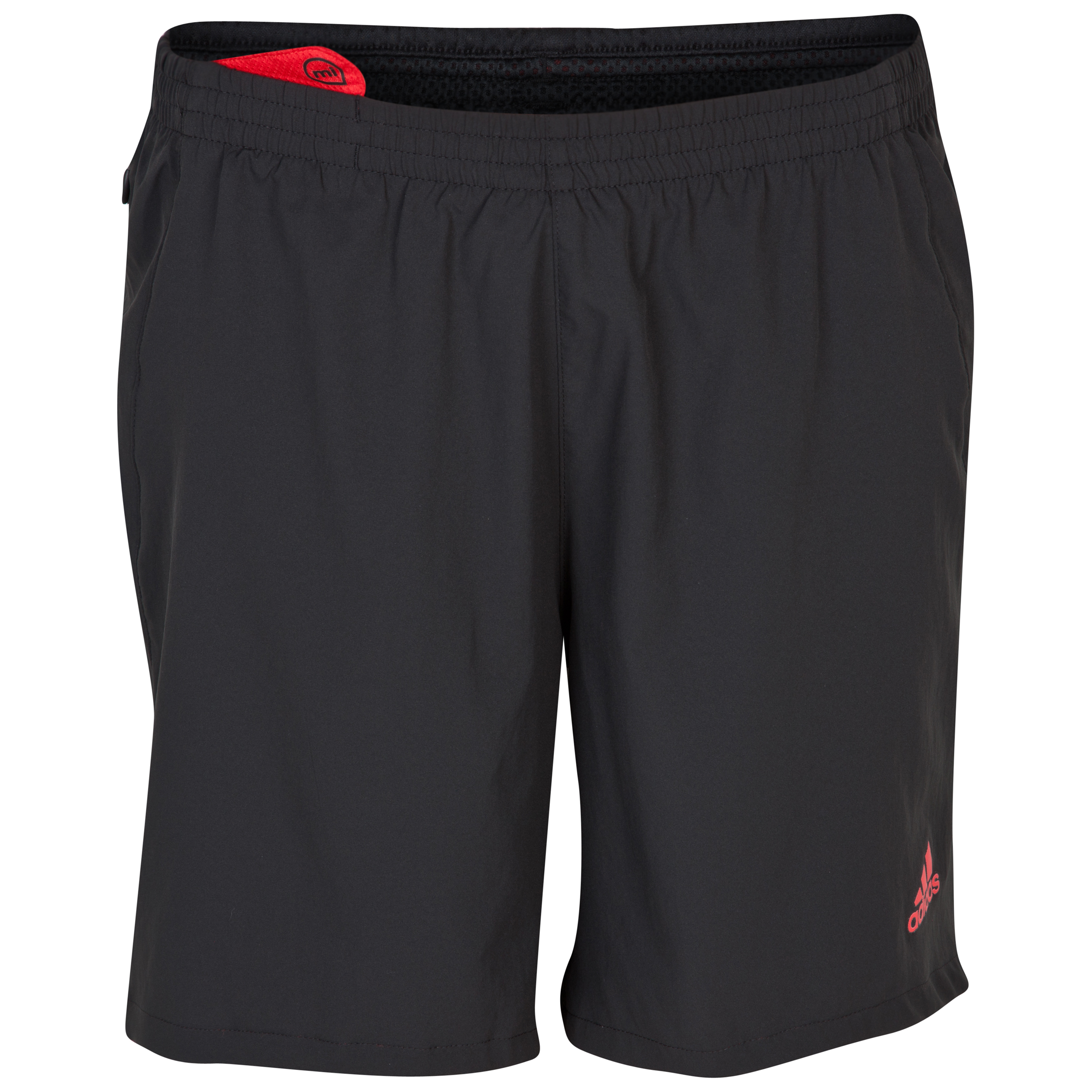 Adidas Supernova 7 Inch Shorts - Black/Vivid Red