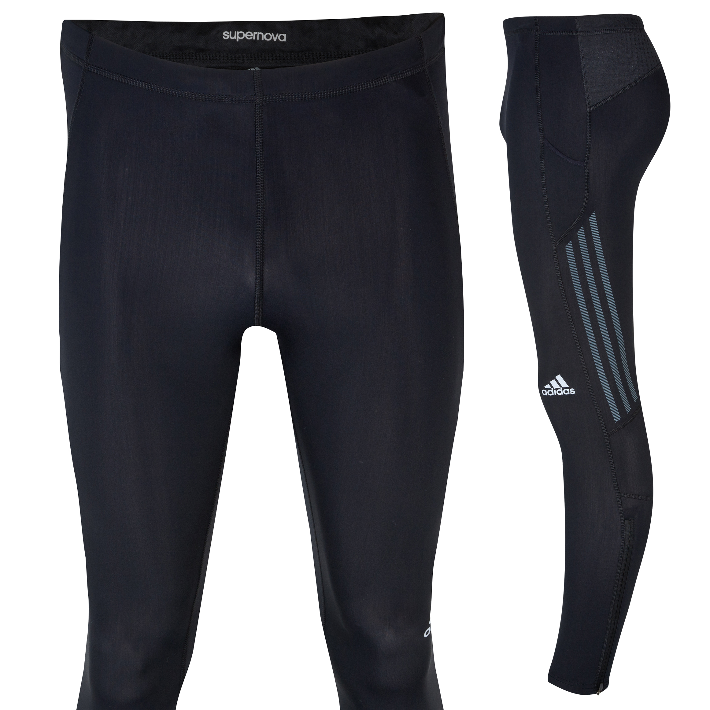 Adidas Supernova Long Tights - Black/Tech Onix